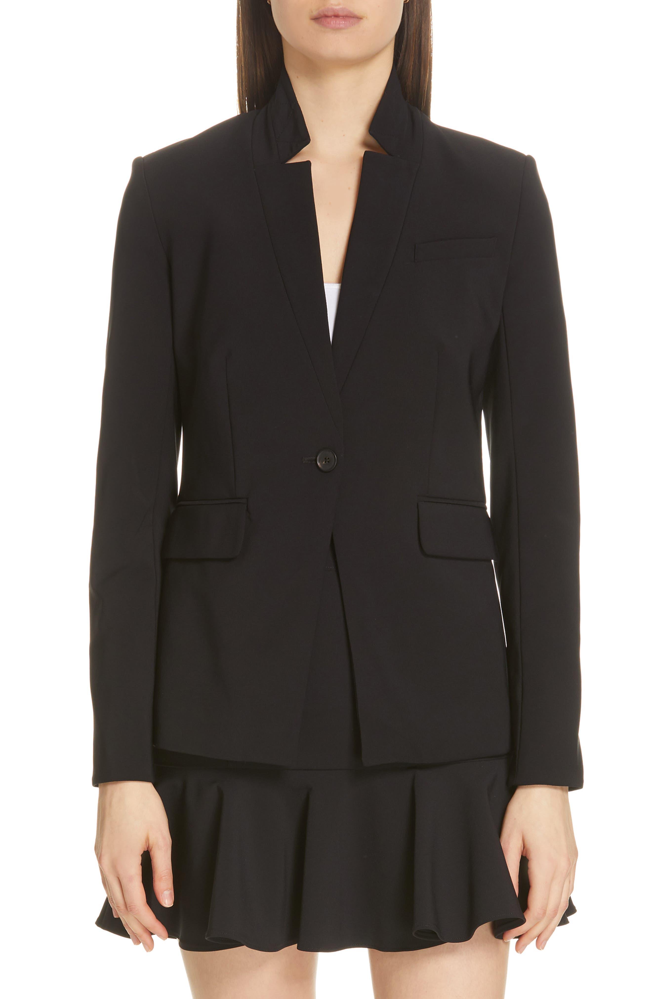 Rae Dickey Jacket,                         Main,                         color, BLACK