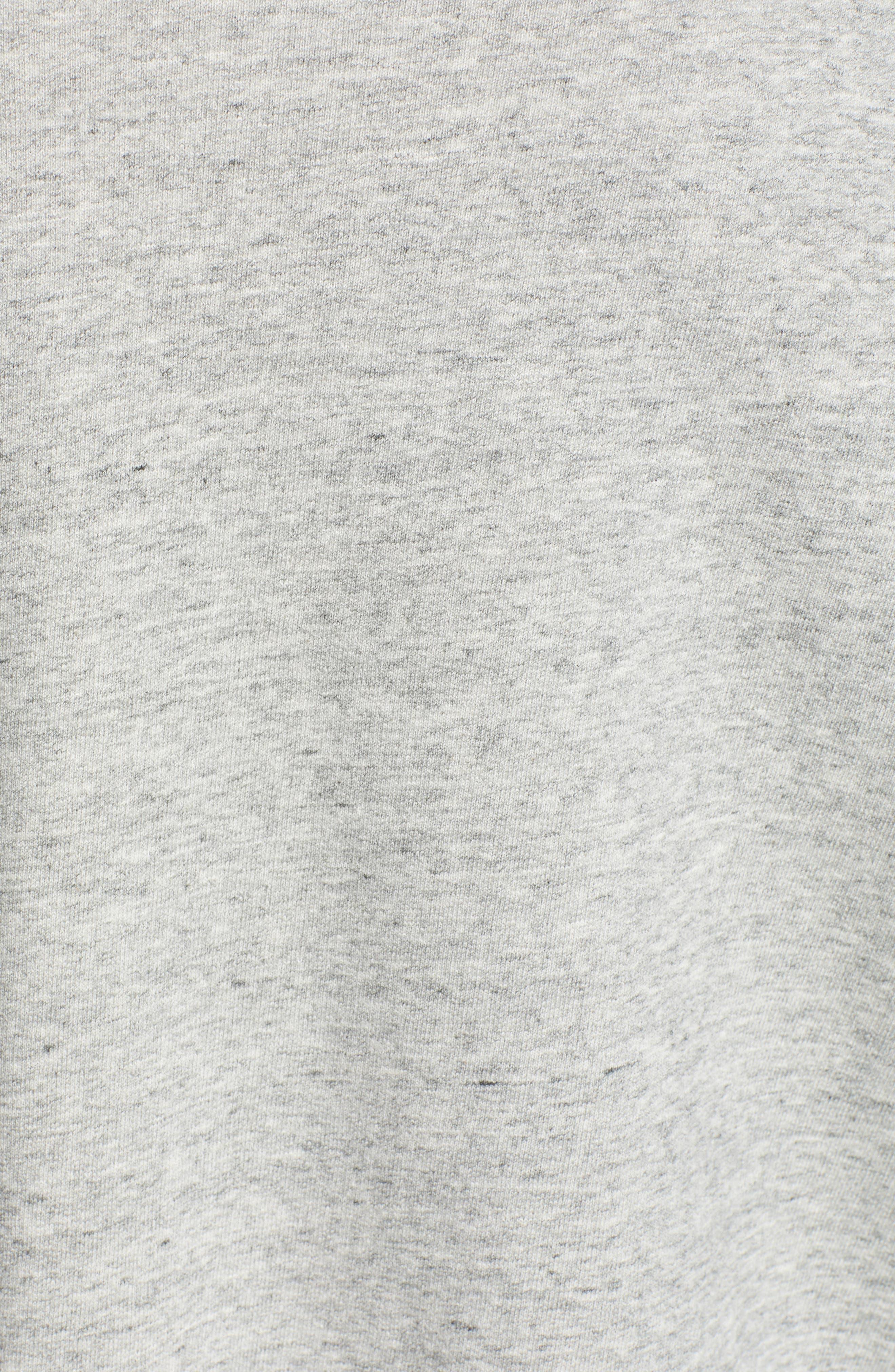 Berdine Oversize Sweatshirt,                             Alternate thumbnail 6, color,                             HEATHER GREY