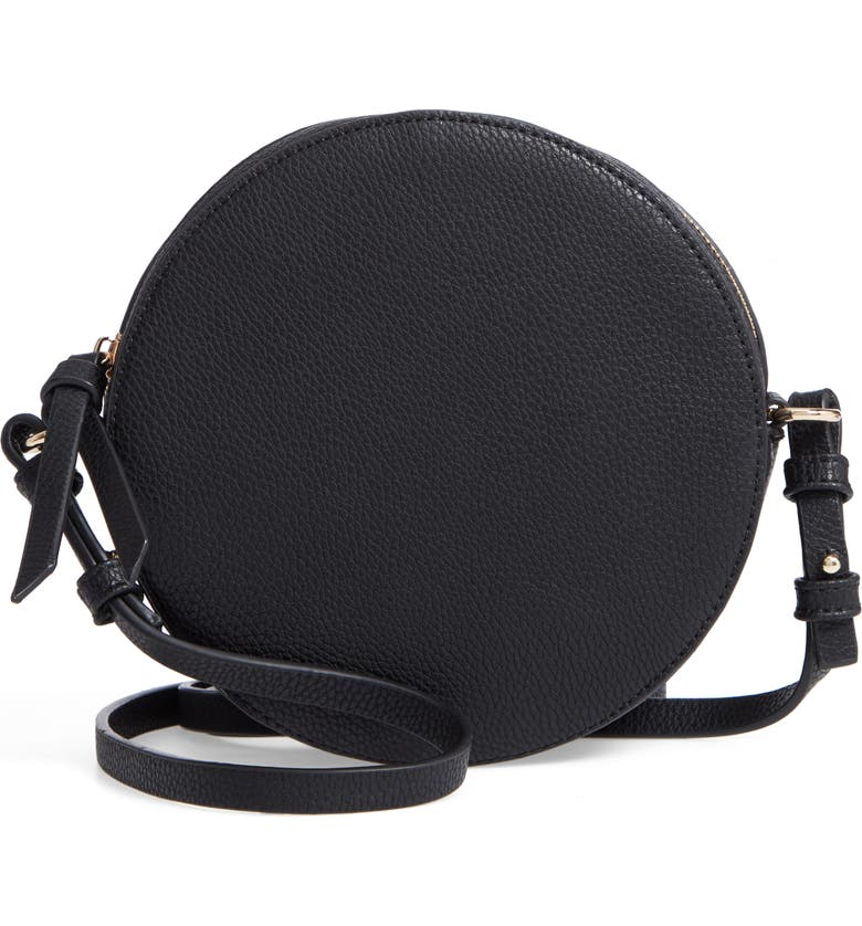21eb70efe6 Chelsea28 Cassie Faux Leather Circle Crossbody Bag