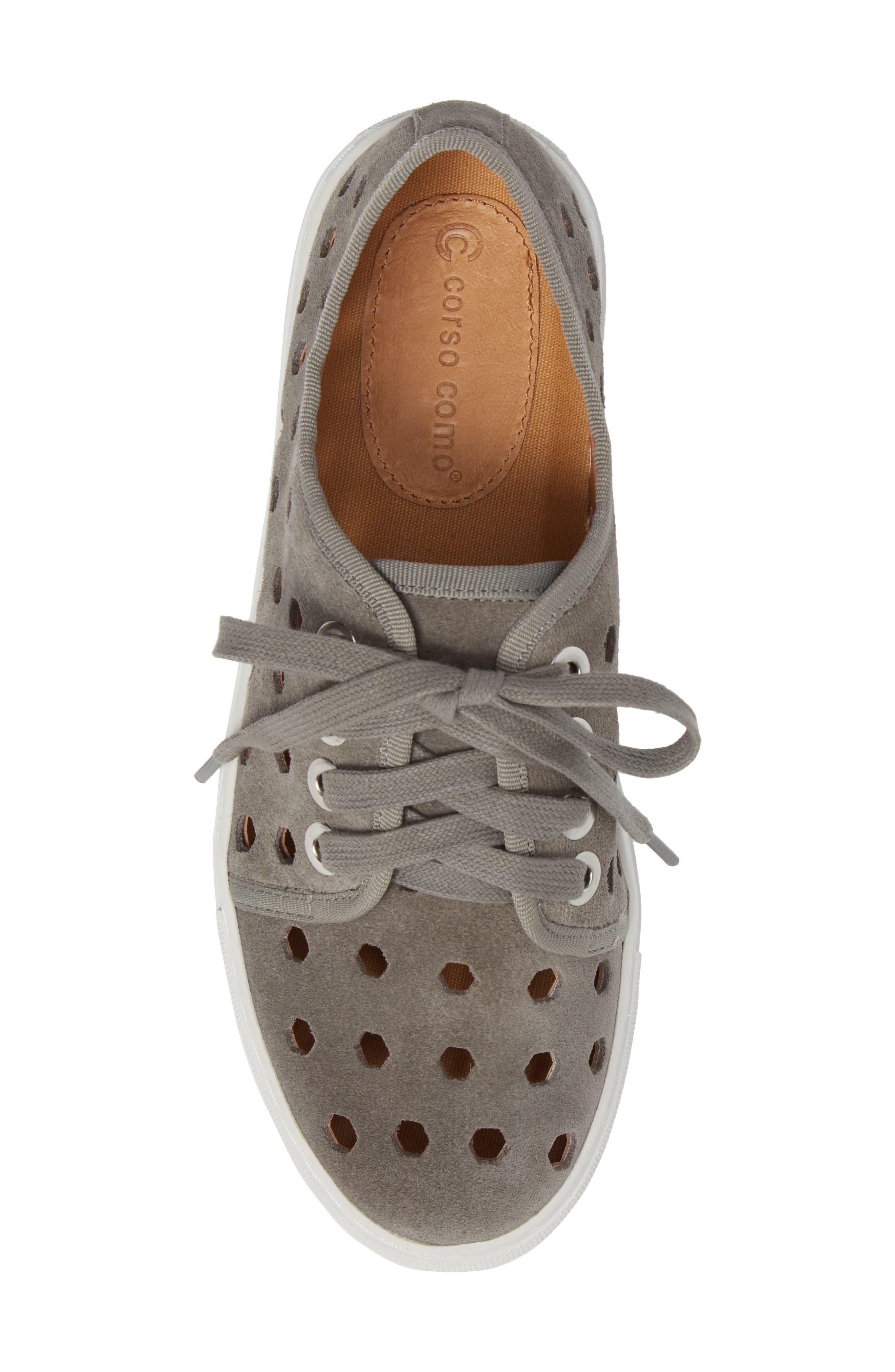 Rasta Perforated Sneaker,                             Alternate thumbnail 14, color,