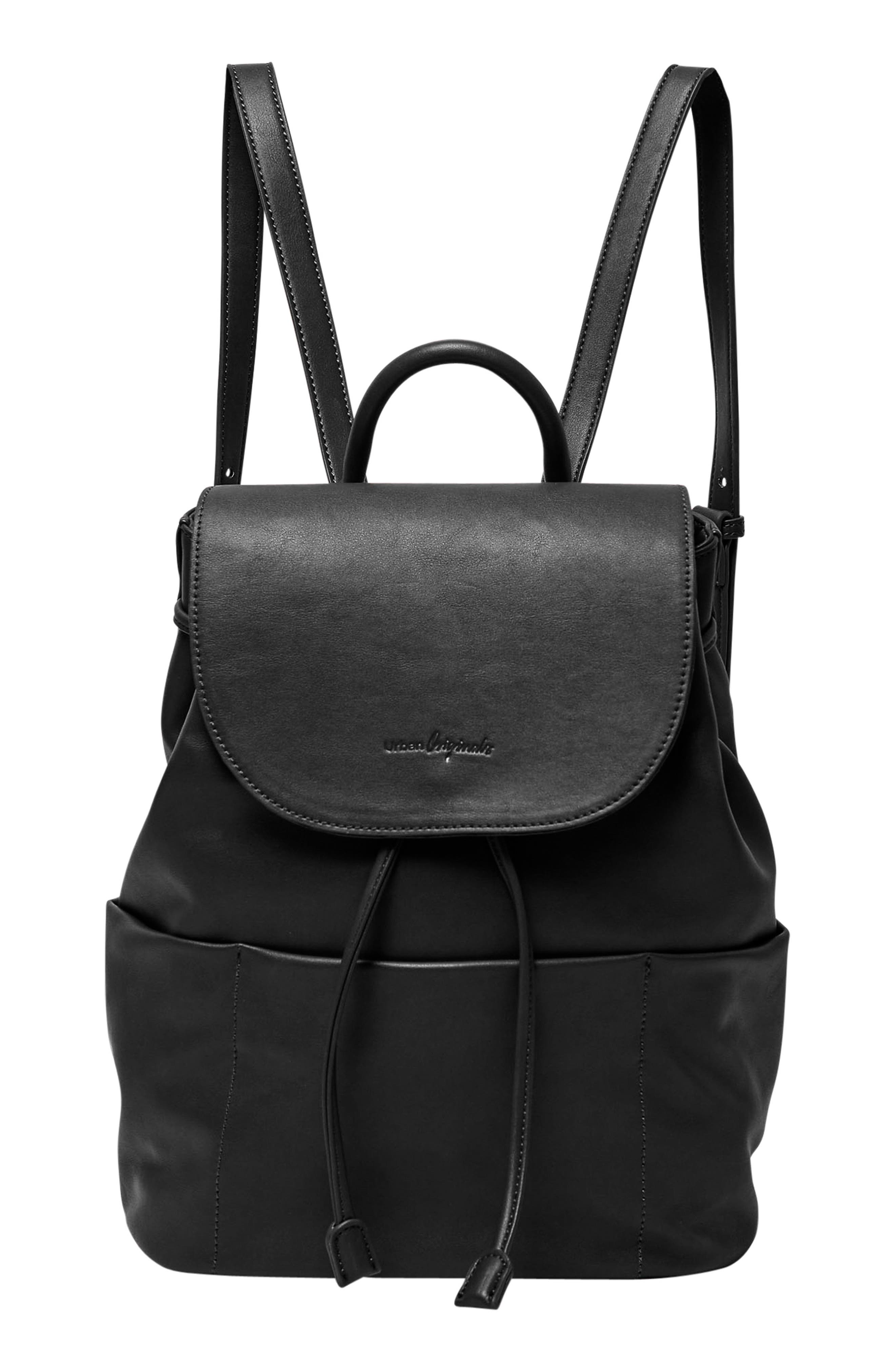 Splendour Vegan Leather Backpack,                             Main thumbnail 1, color,                             002