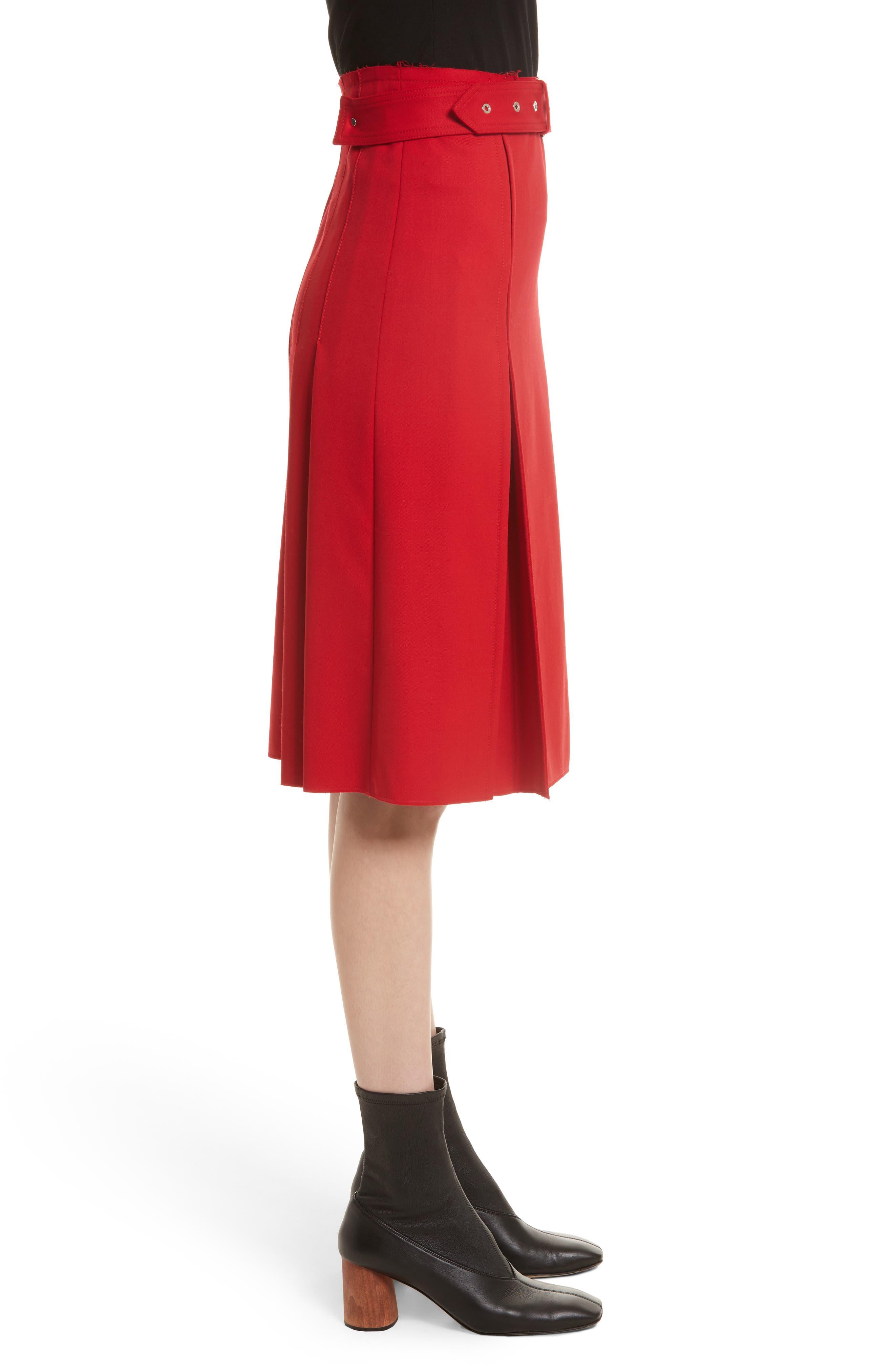 Suiting Kilt Skirt,                             Alternate thumbnail 3, color,                             600