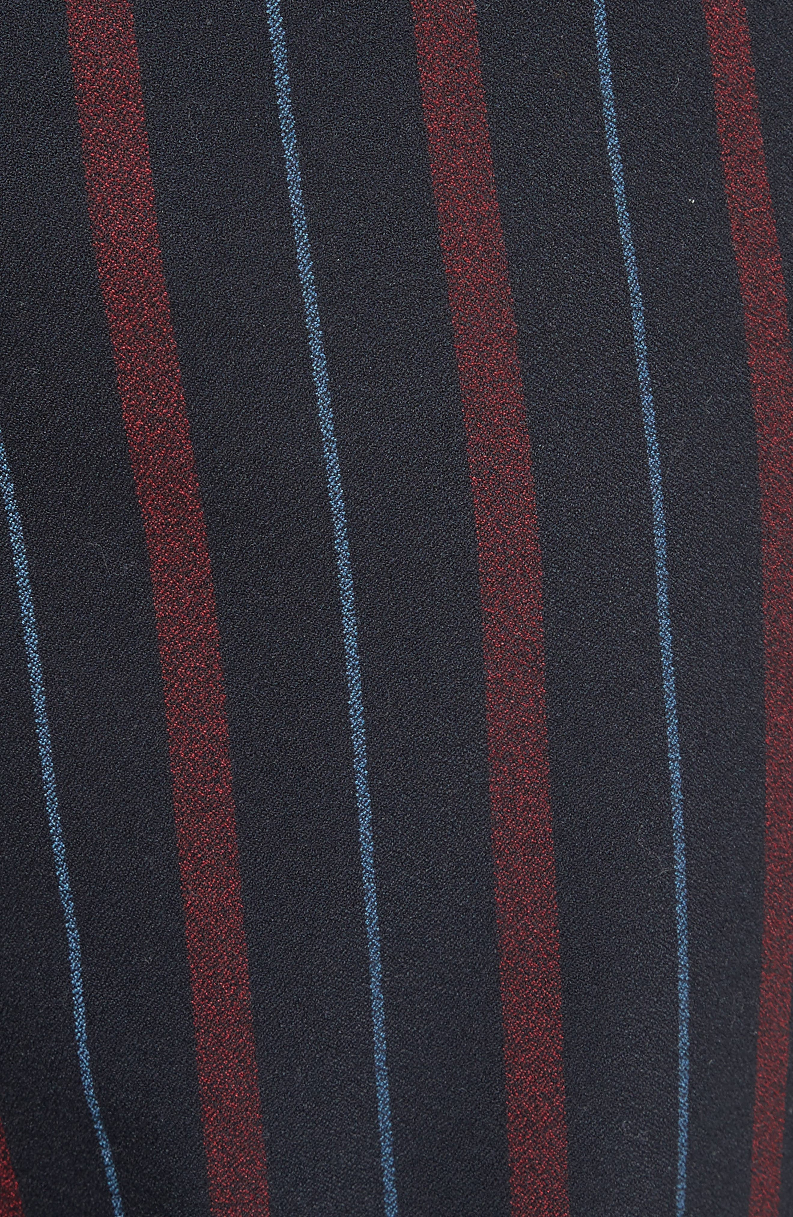 Stripe Straight Leg Trousers,                             Alternate thumbnail 5, color,