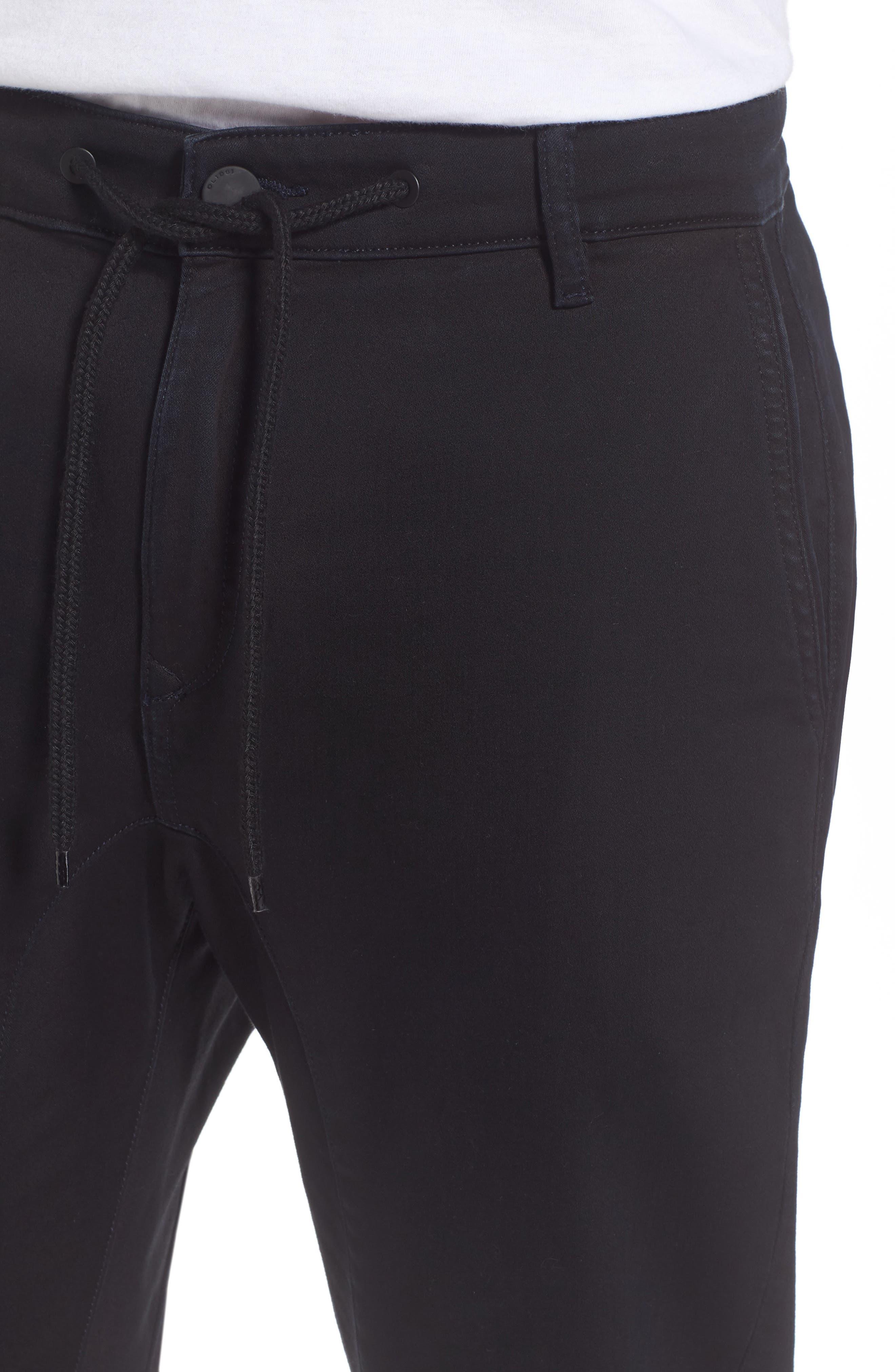 Jay Slim Skinny Fit Jogger Pants,                             Alternate thumbnail 4, color,                             001