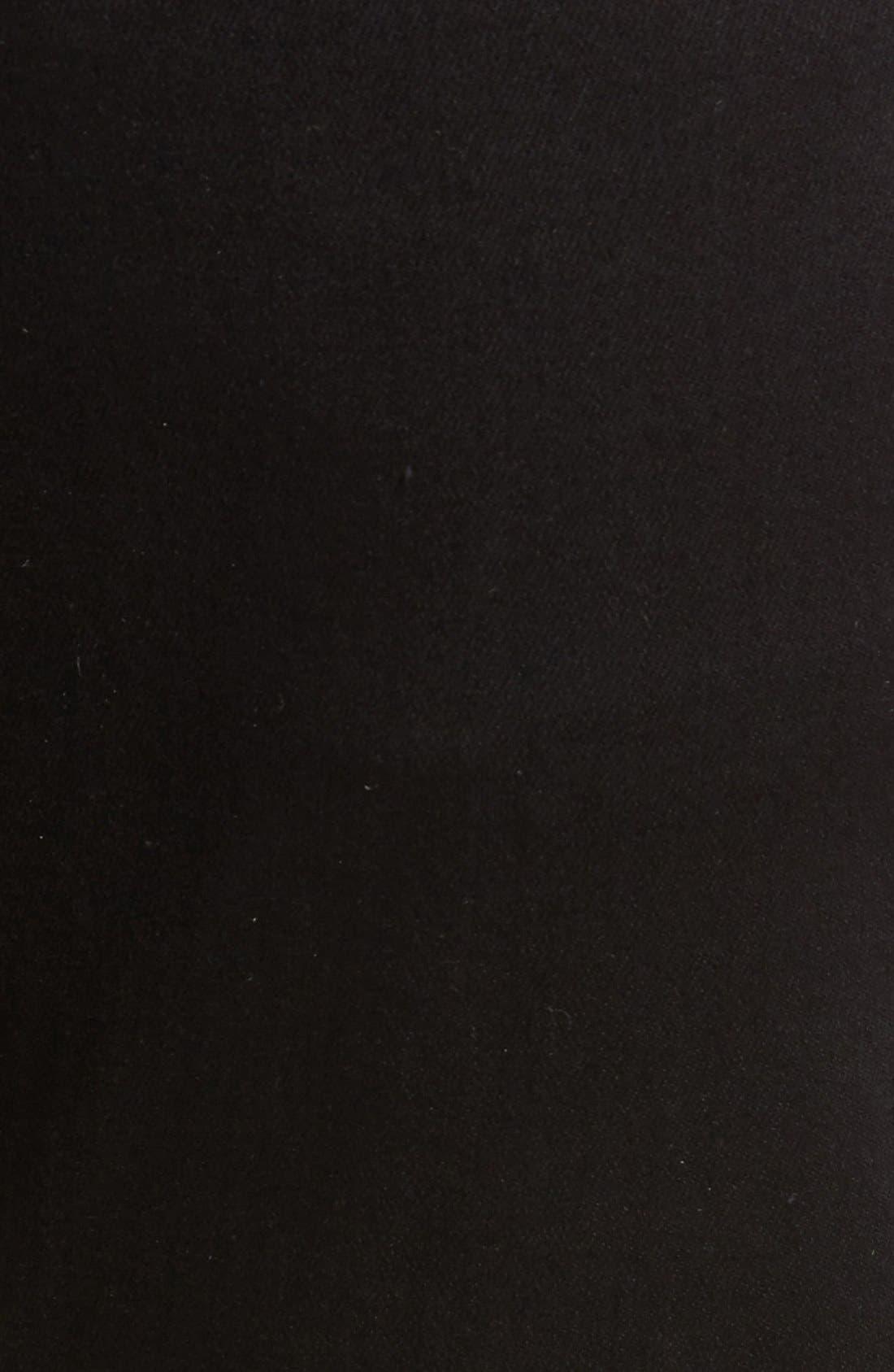 Tyler Slim Fit Jeans,                             Alternate thumbnail 6, color,                             TRIVOR BLACK