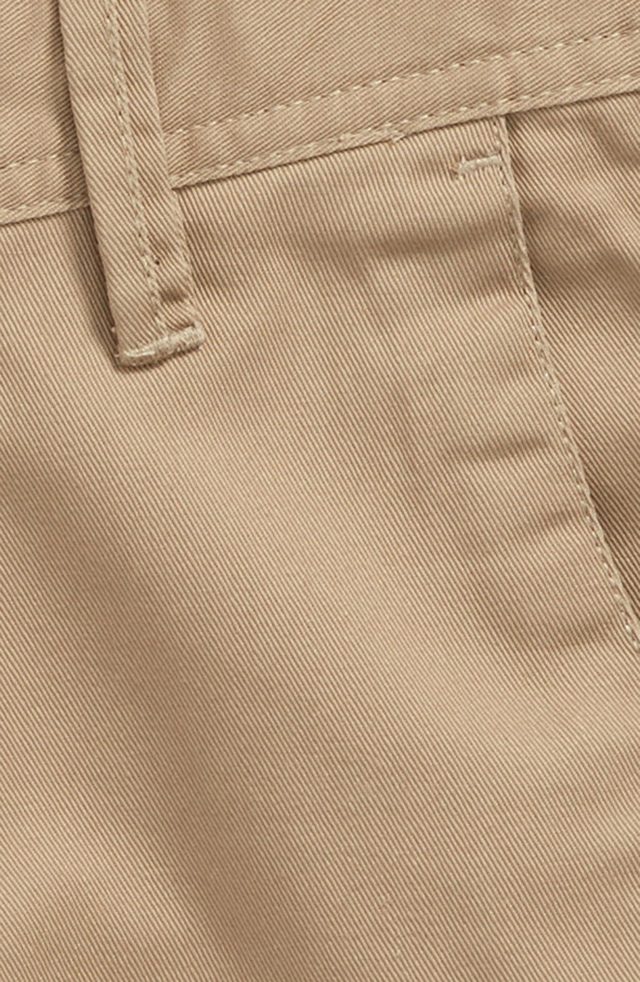 Chino Shorts,                             Alternate thumbnail 2, color,                             KHAKI