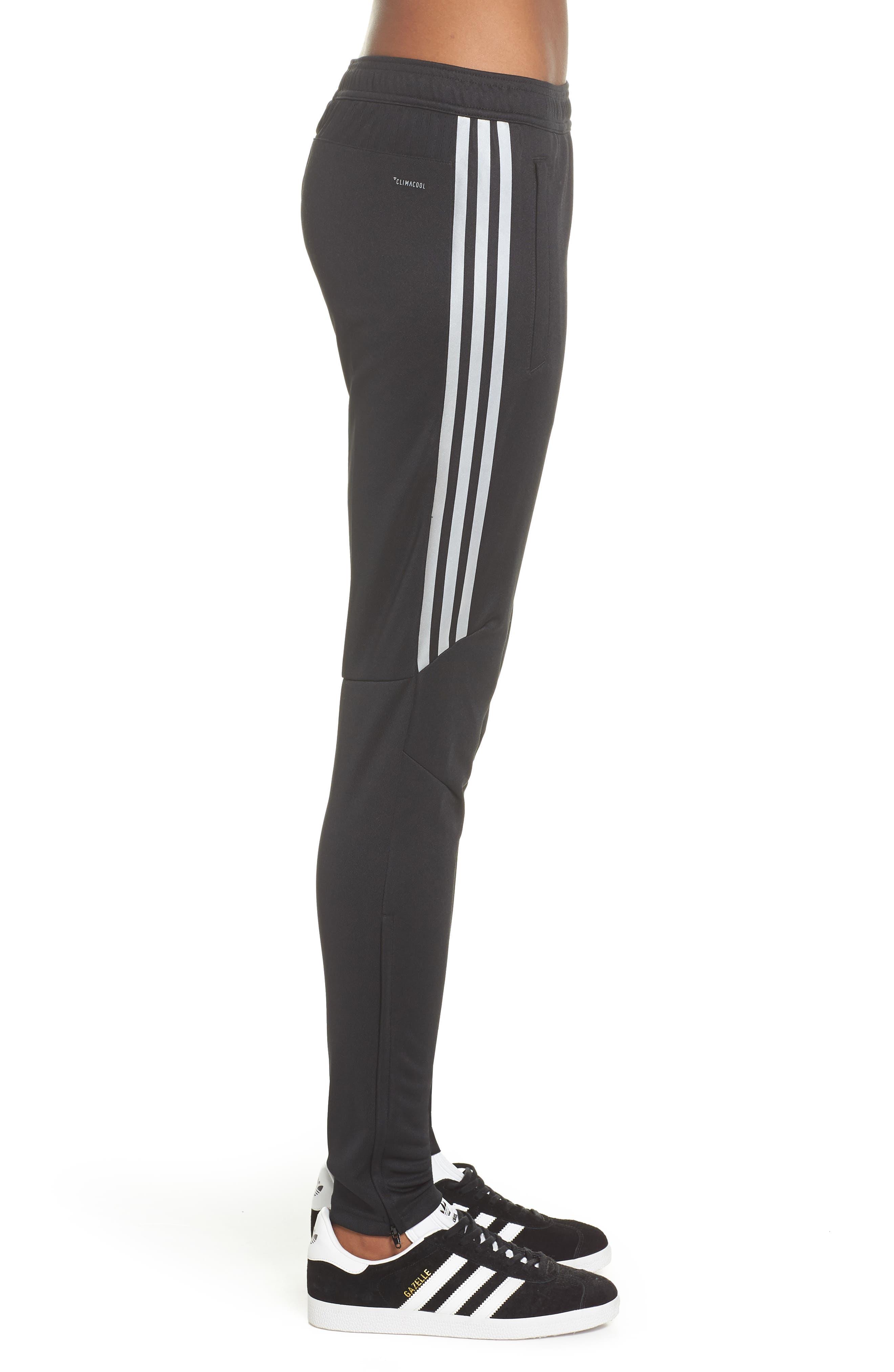 Tiro 17 Training Pants,                             Alternate thumbnail 3, color,                             BLACK/ REFLECTIVE SILVER