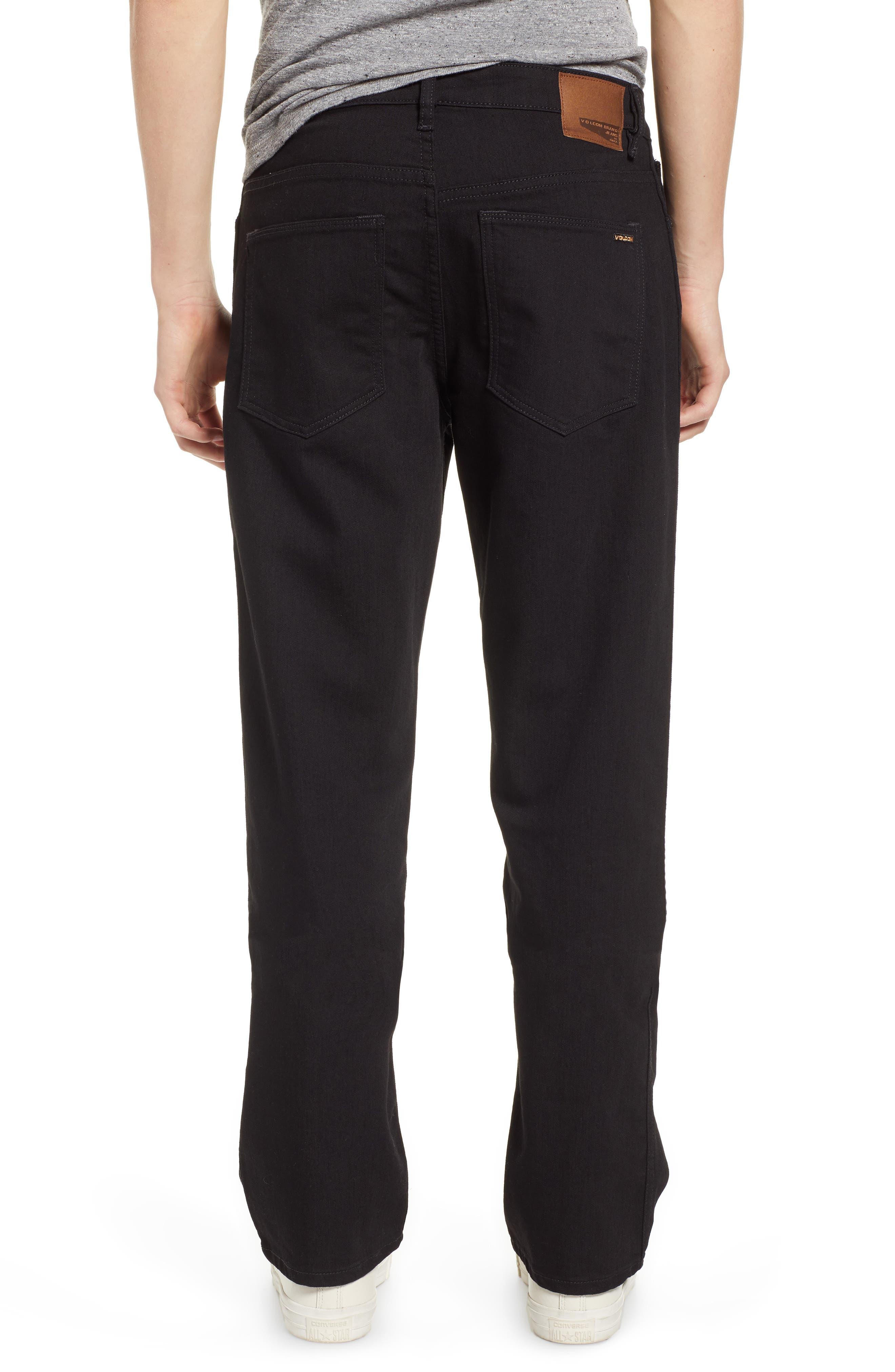 Kinkade Slim Fit Jeans,                             Alternate thumbnail 2, color,                             TOUGH BLACK