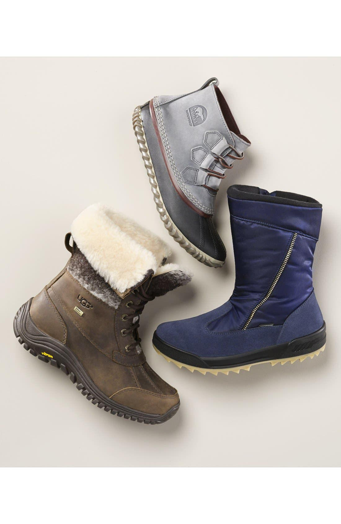 UGG<SUP>®</SUP>,                             Adirondack Waterproof Insulated Winter Boot,                             Alternate thumbnail 6, color,                             020
