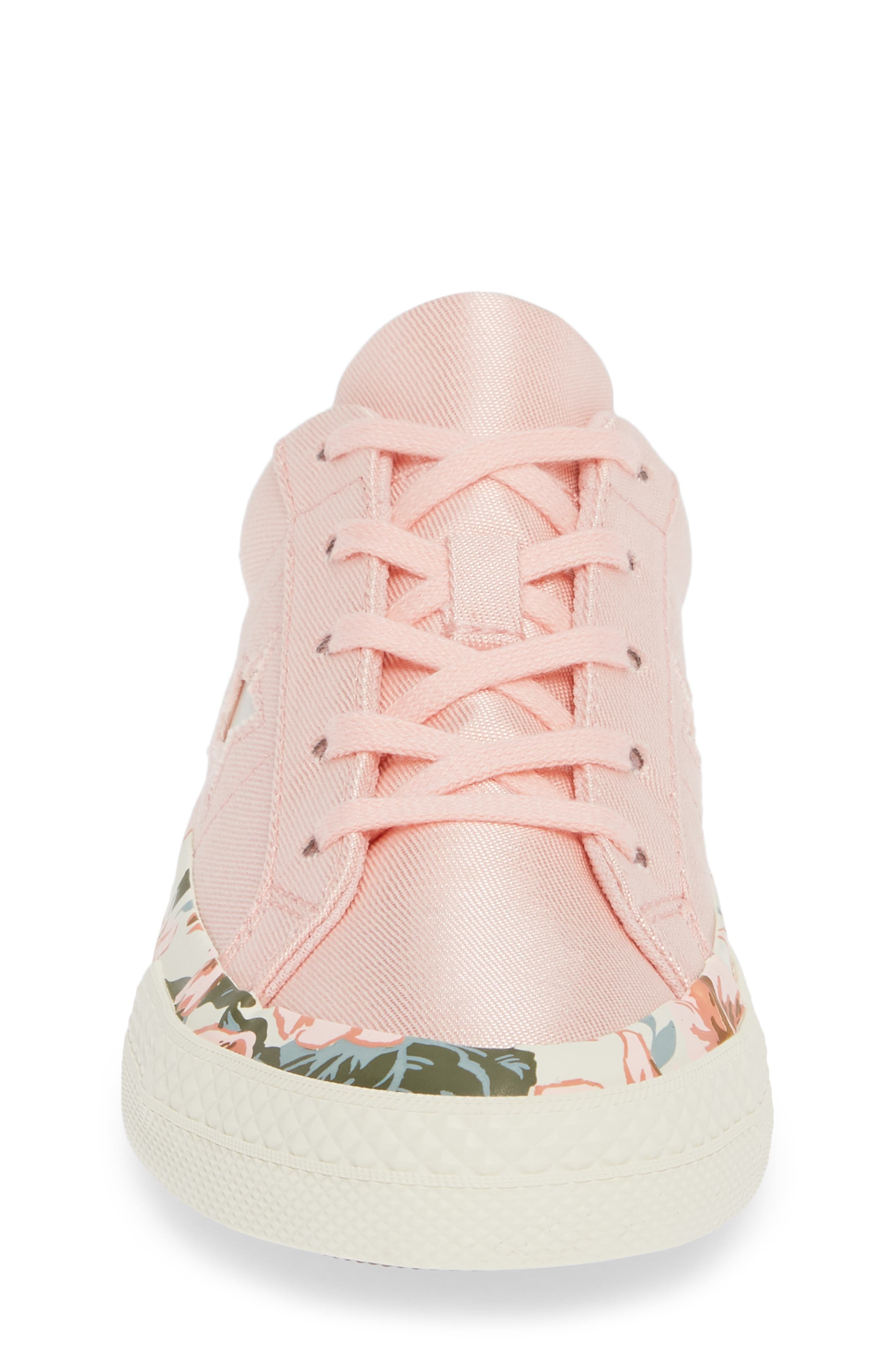 One Star Floral Sneaker,                             Alternate thumbnail 4, color,                             690
