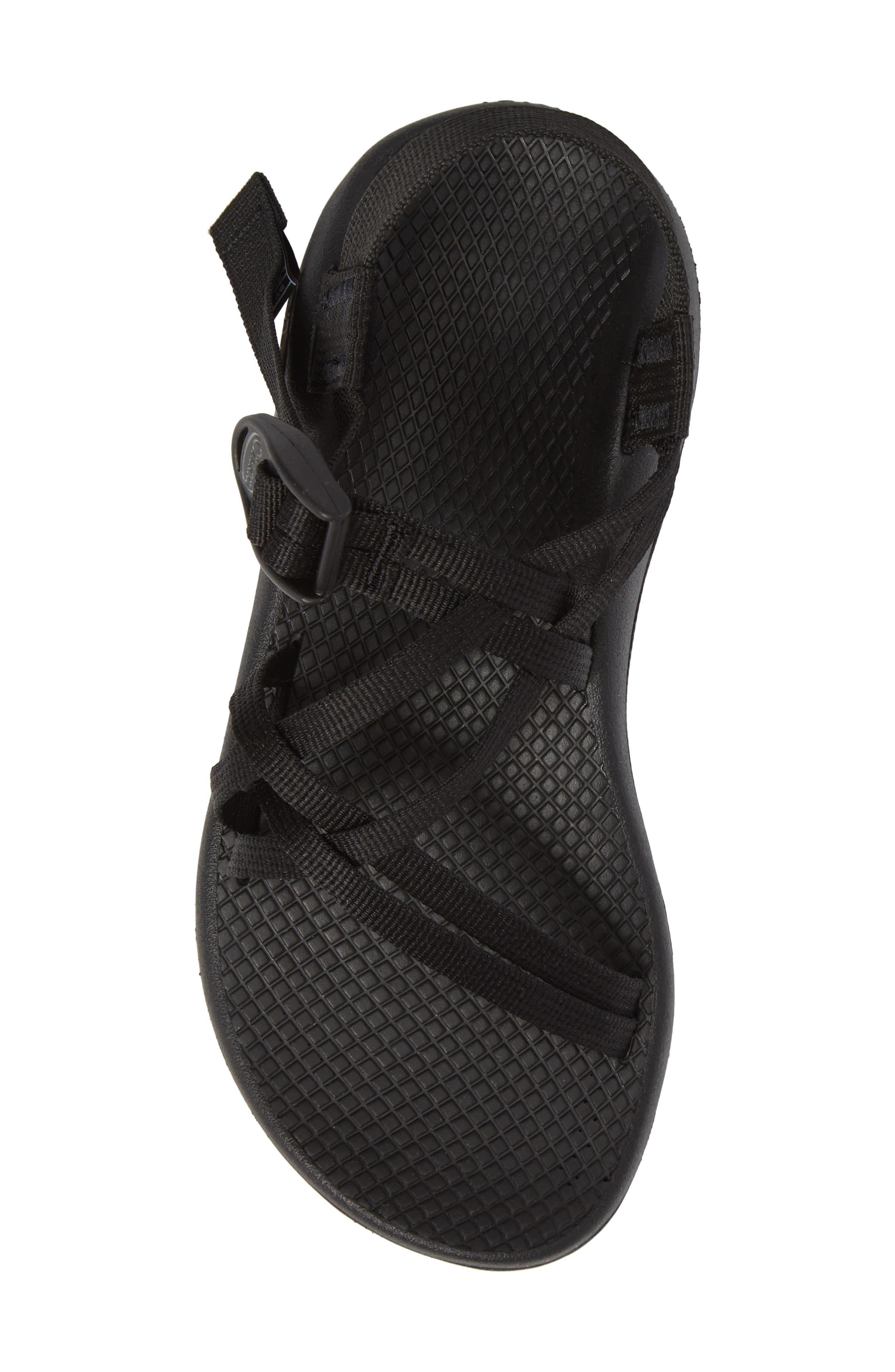 ZX1 Classic Sport Sandal,                             Alternate thumbnail 5, color,                             BLACK