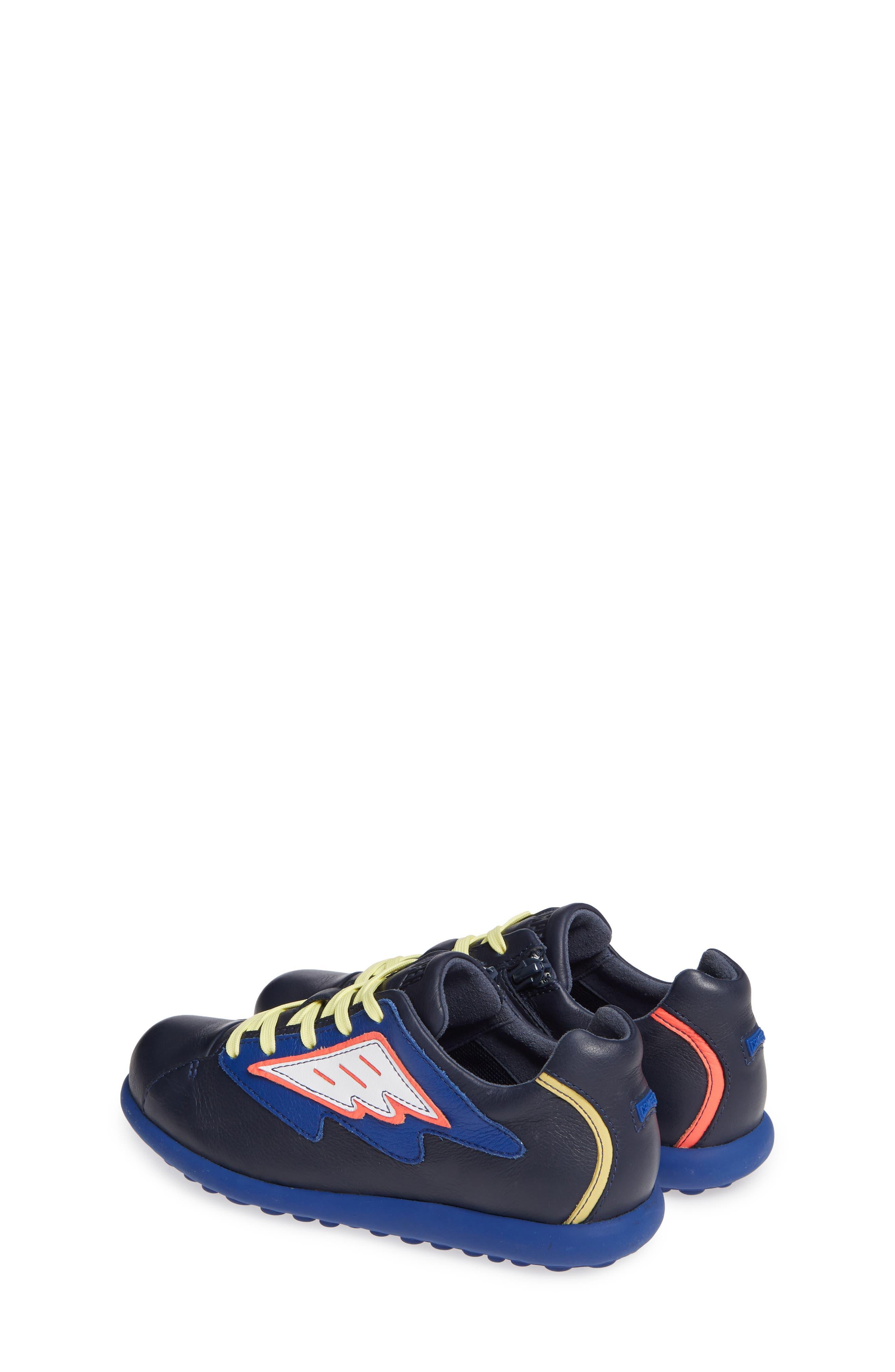 TWS Kids Sneaker,                             Alternate thumbnail 3, color,                             BLUE MULTI
