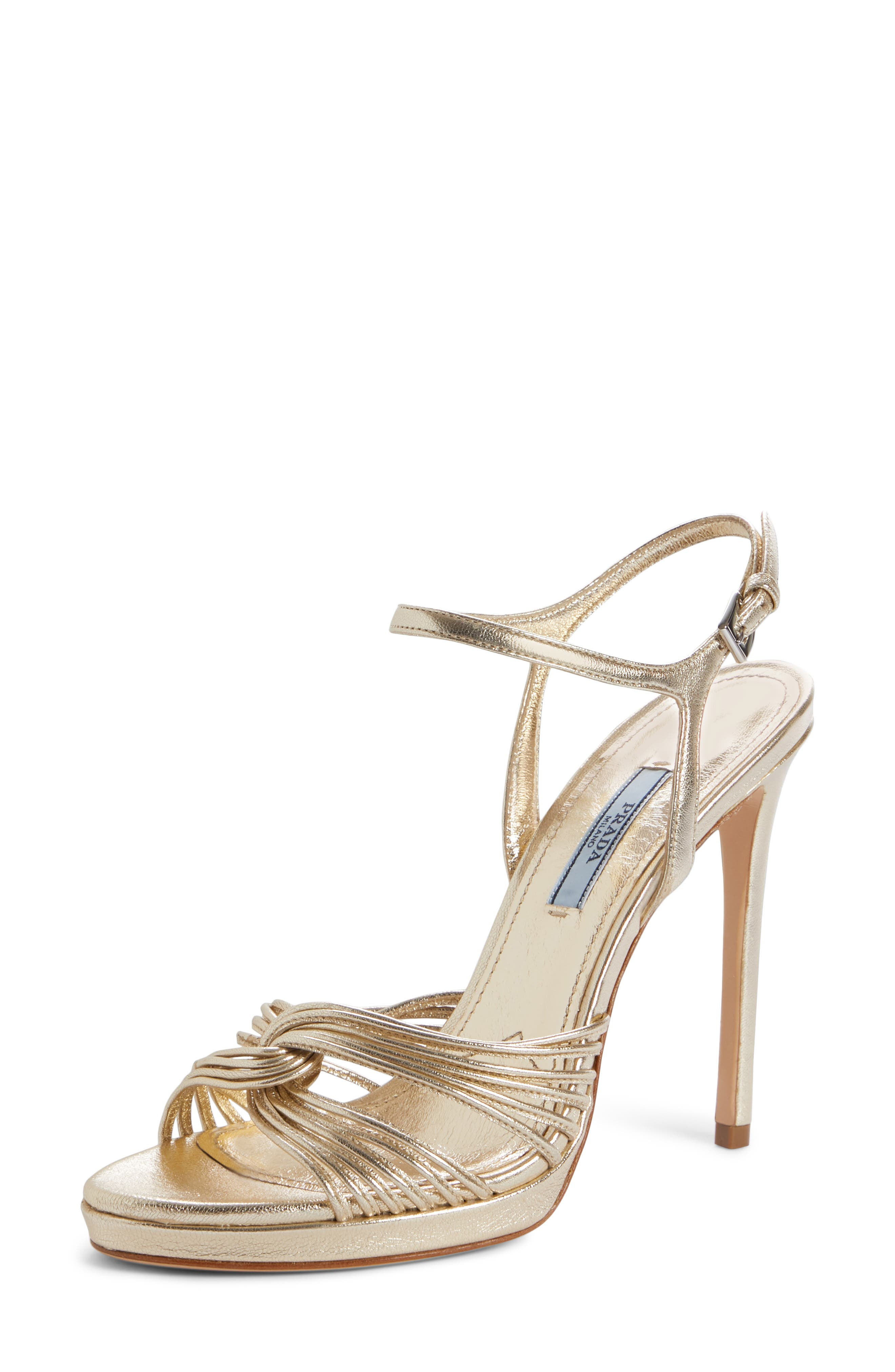 Roping Ankle Strap Sandal,                             Main thumbnail 1, color,                             PIRITE LEATHER