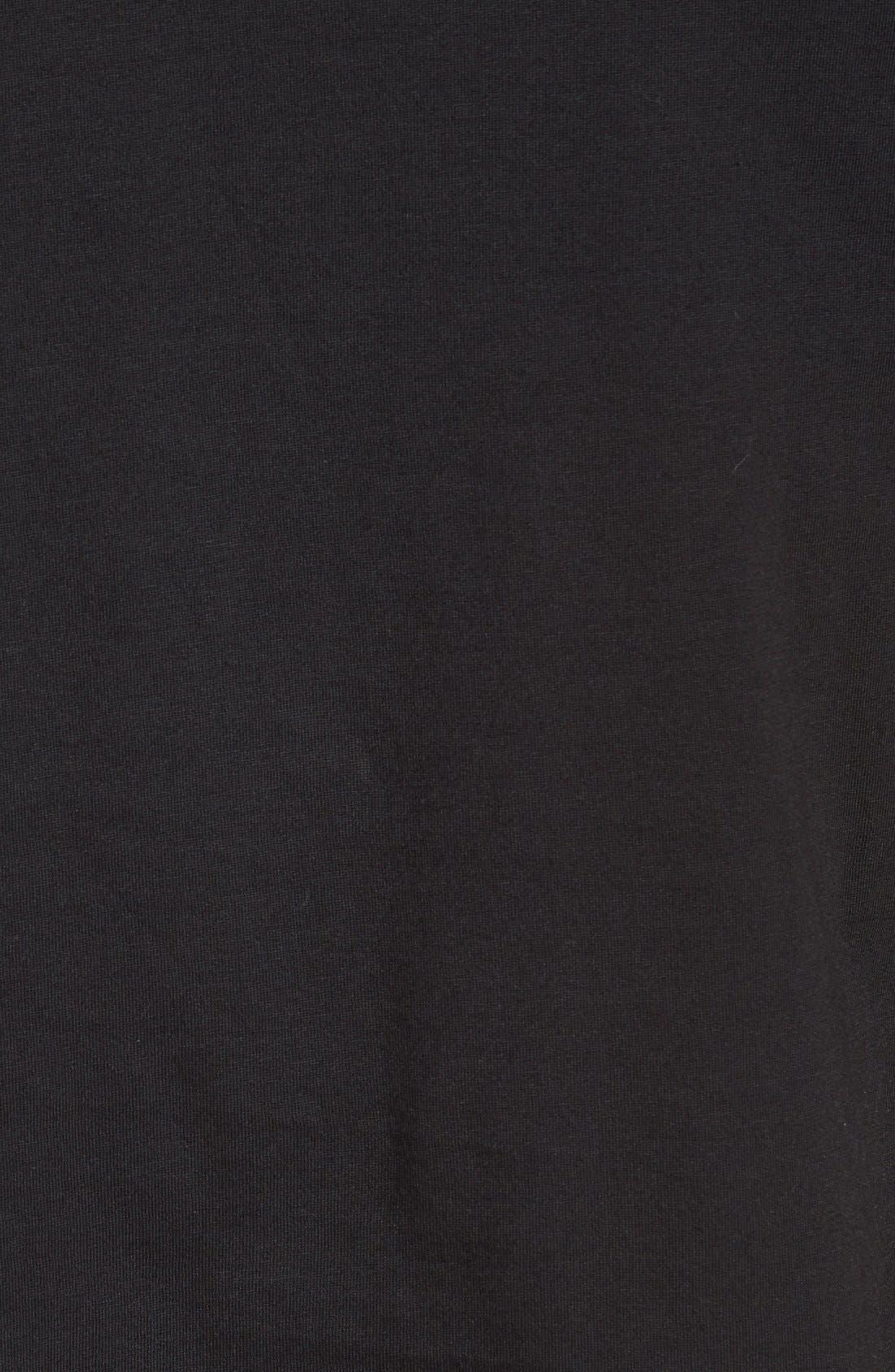 Supima<sup>®</sup> Cotton V-Neck T-Shirt,                             Alternate thumbnail 5, color,