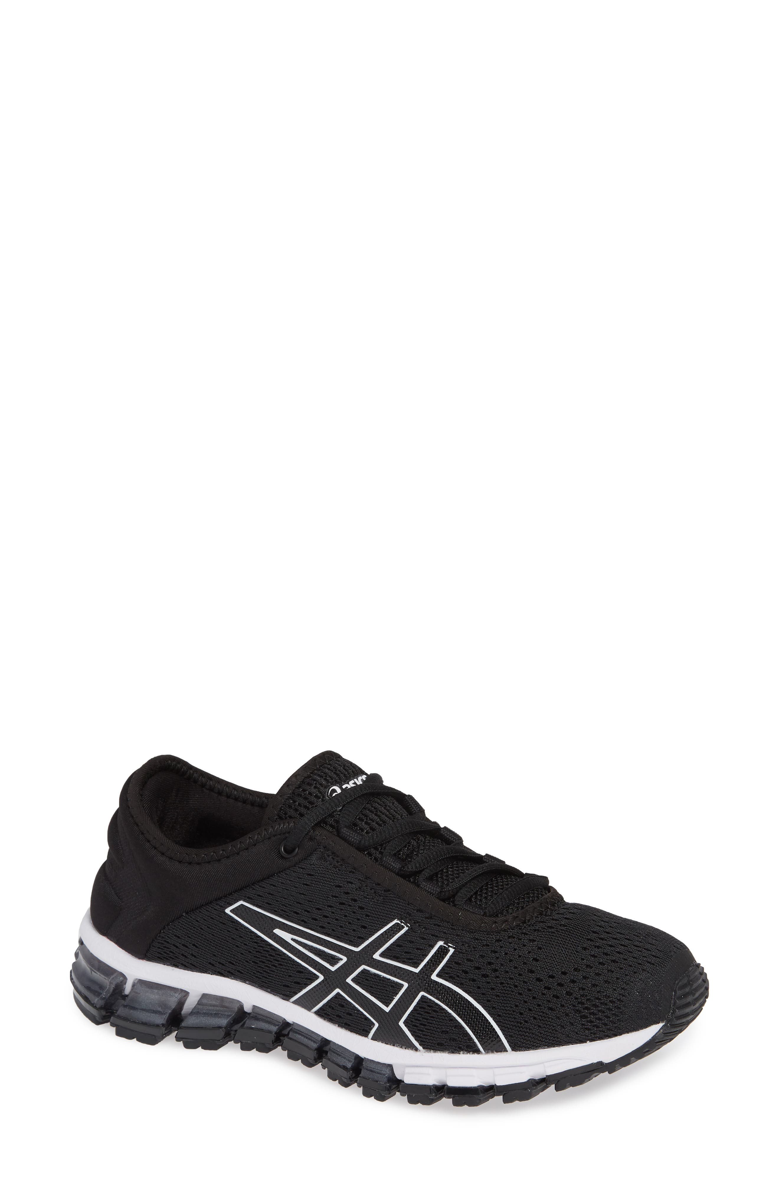 GEL Quantum 180 3 Running Shoe,                             Main thumbnail 1, color,                             BLACK/ WHITE