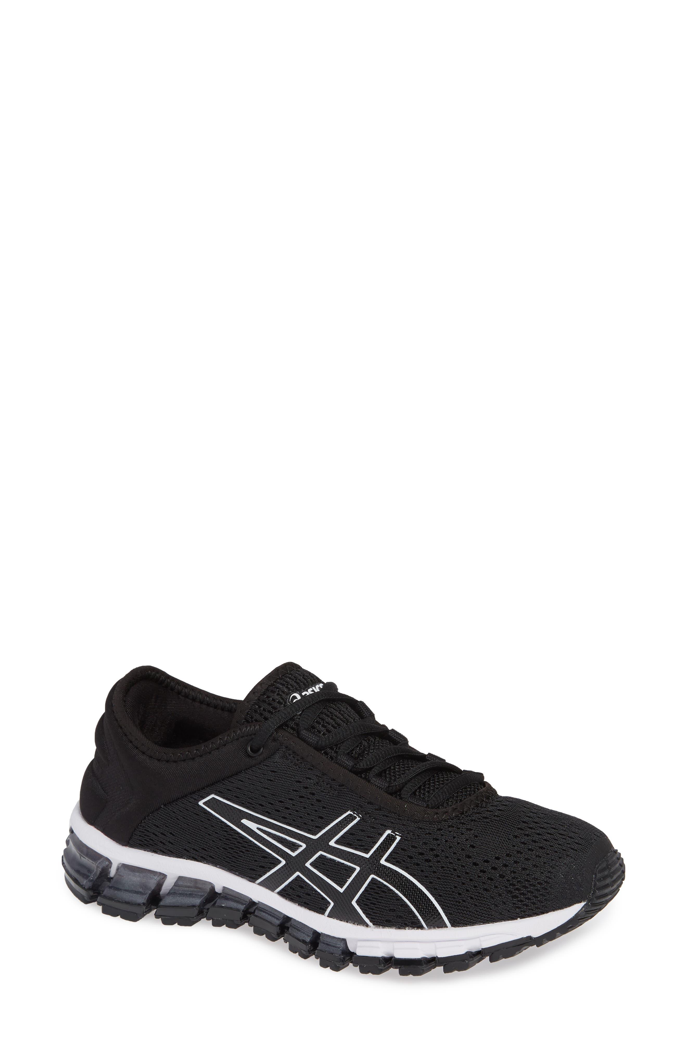 GEL Quantum 180 3 Running Shoe,                         Main,                         color, BLACK/ WHITE