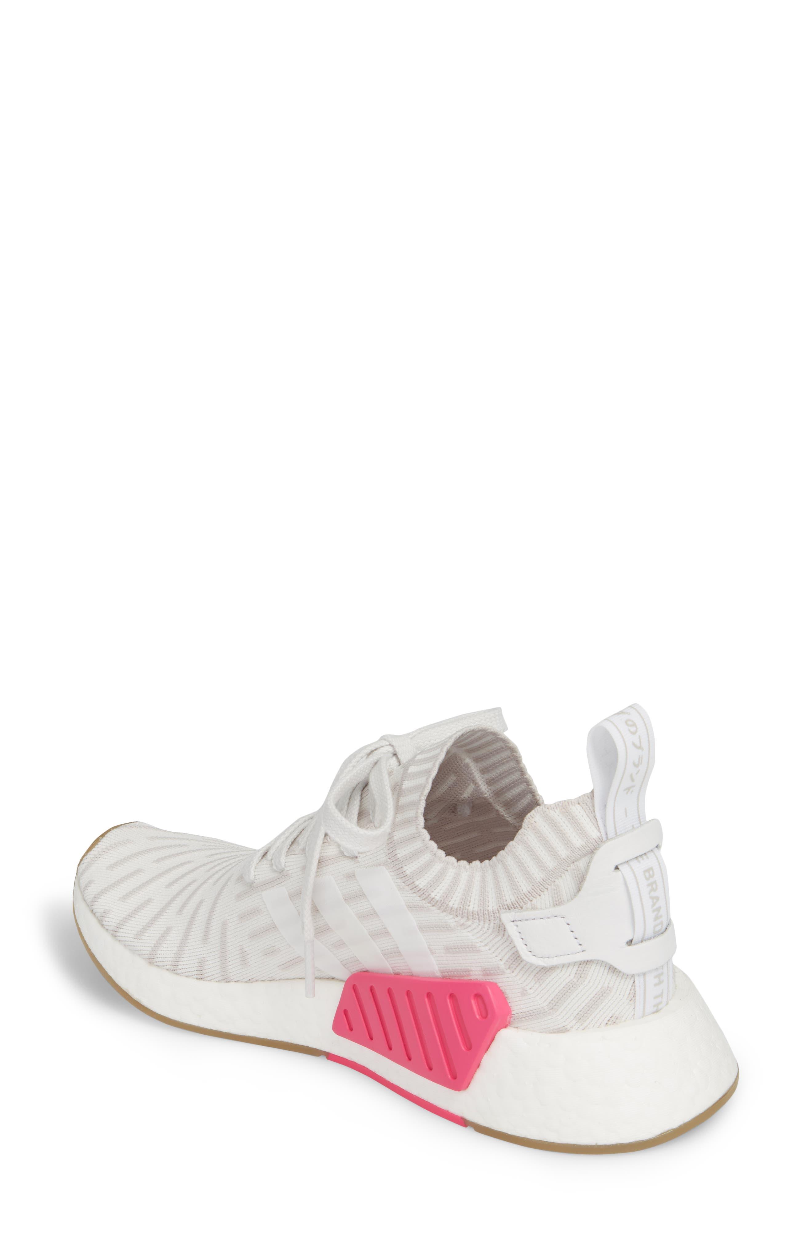 NMD R2 Primeknit Athletic Shoe,                             Alternate thumbnail 6, color,