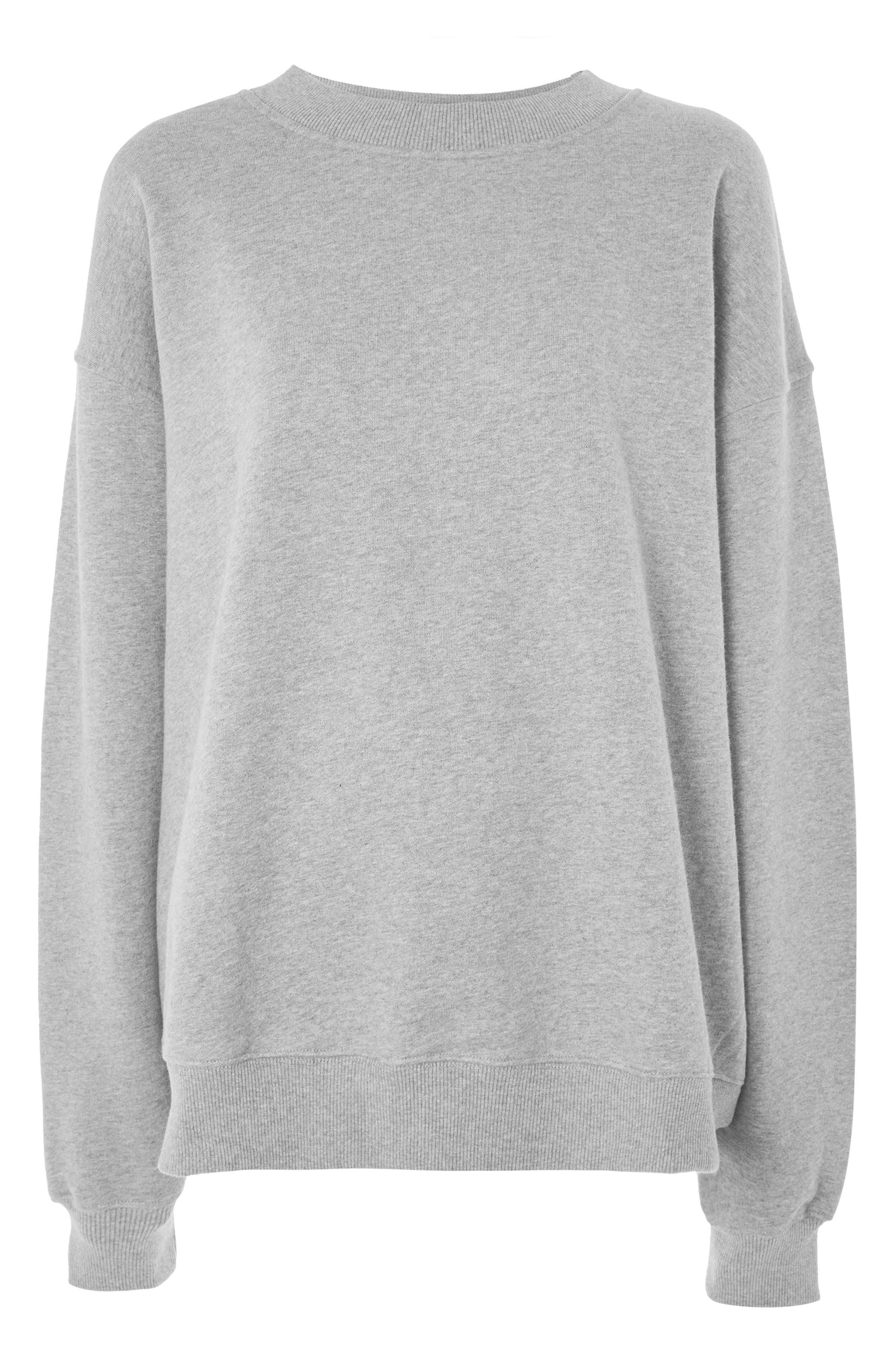 Oversize Sweatshirt,                             Main thumbnail 1, color,                             020