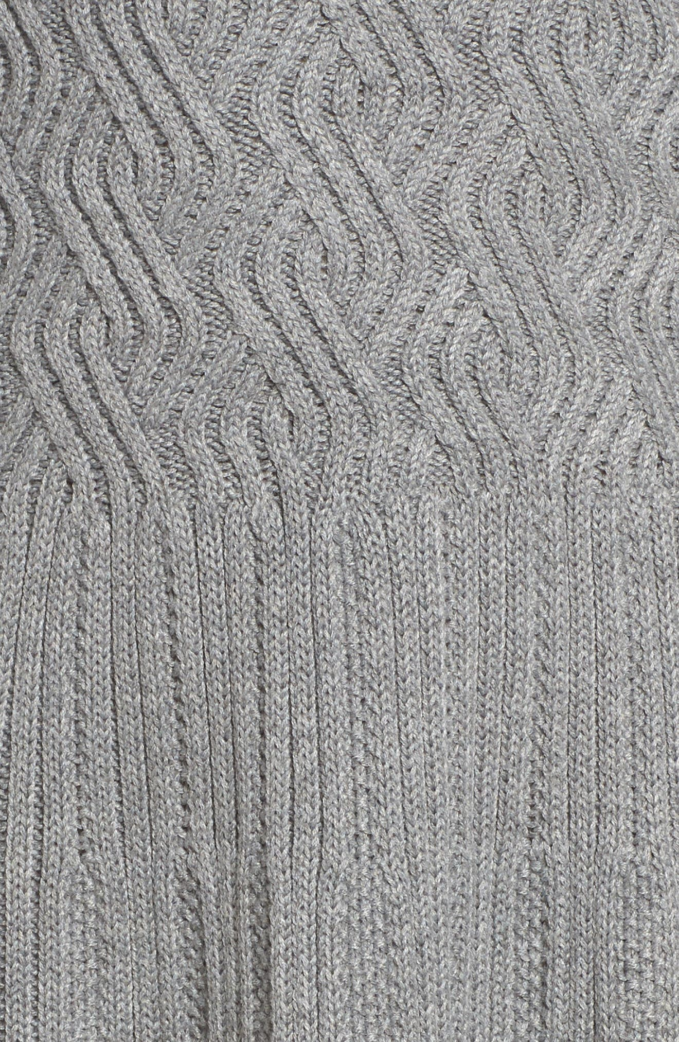 Cowl Neck Sweater Dress,                             Alternate thumbnail 5, color,                             030