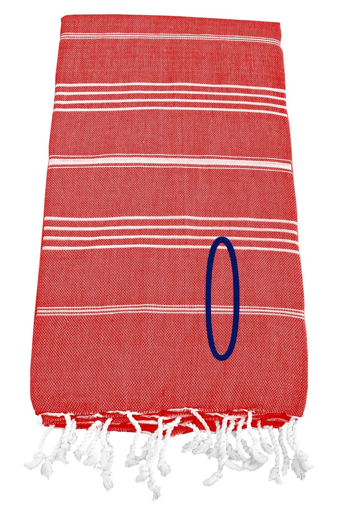 Monogram Turkish Cotton Towel,                             Main thumbnail 124, color,