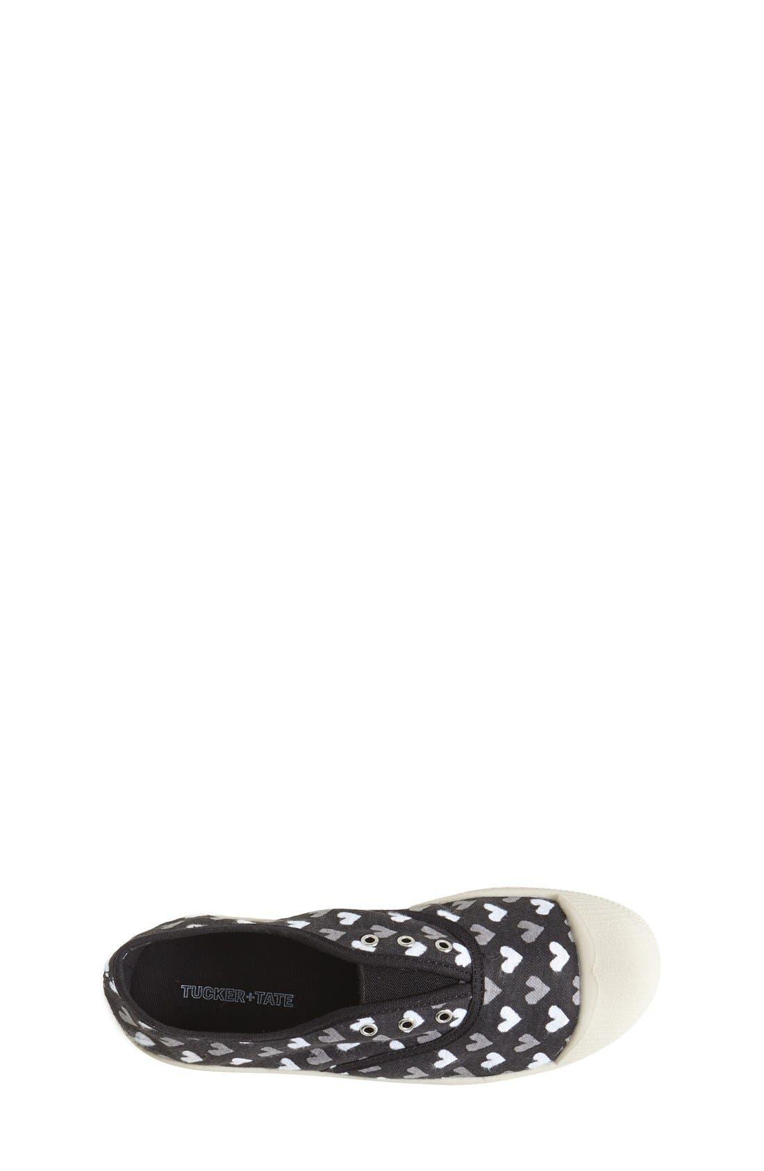 'Marin' Canvas Slip-On Sneaker,                             Alternate thumbnail 3, color,                             001