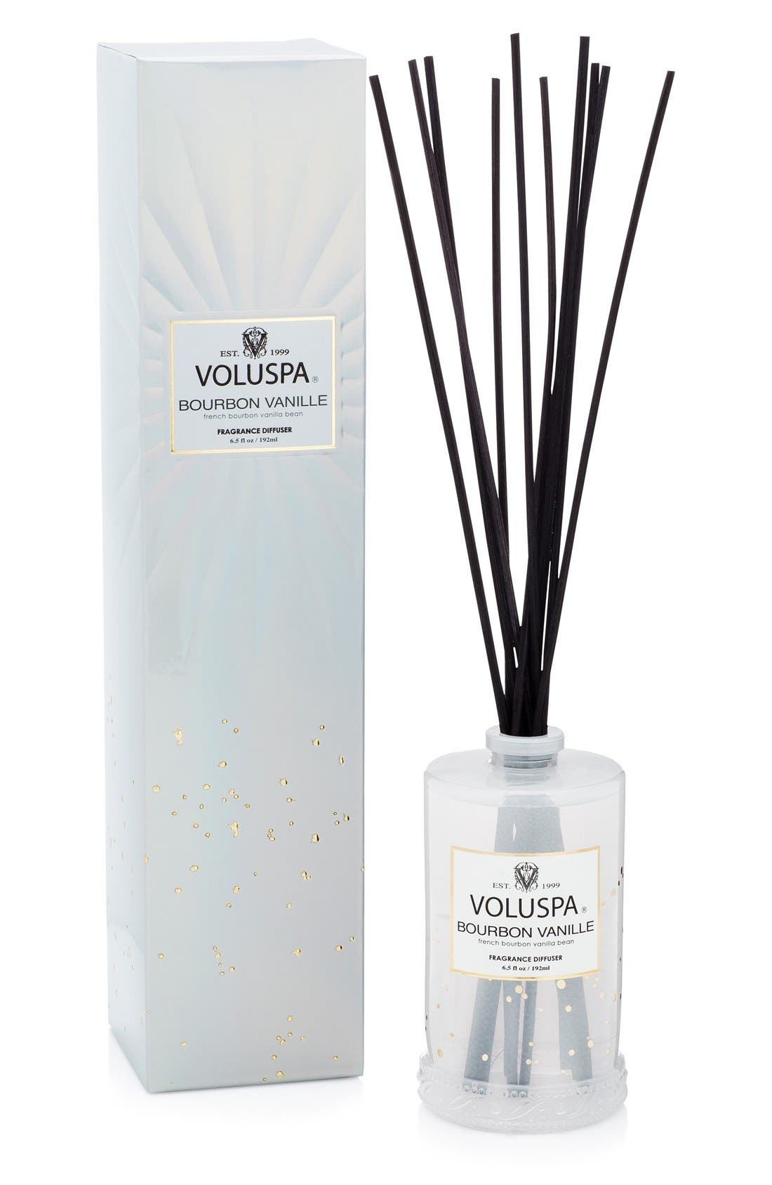 Vermeil French Bourbon Vanille Fragrant Oil Diffuser,                             Main thumbnail 1, color,                             NO COLOR