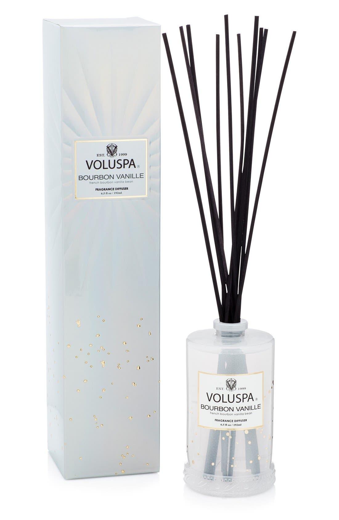 Vermeil French Bourbon Vanille Fragrant Oil Diffuser,                         Main,                         color, NO COLOR
