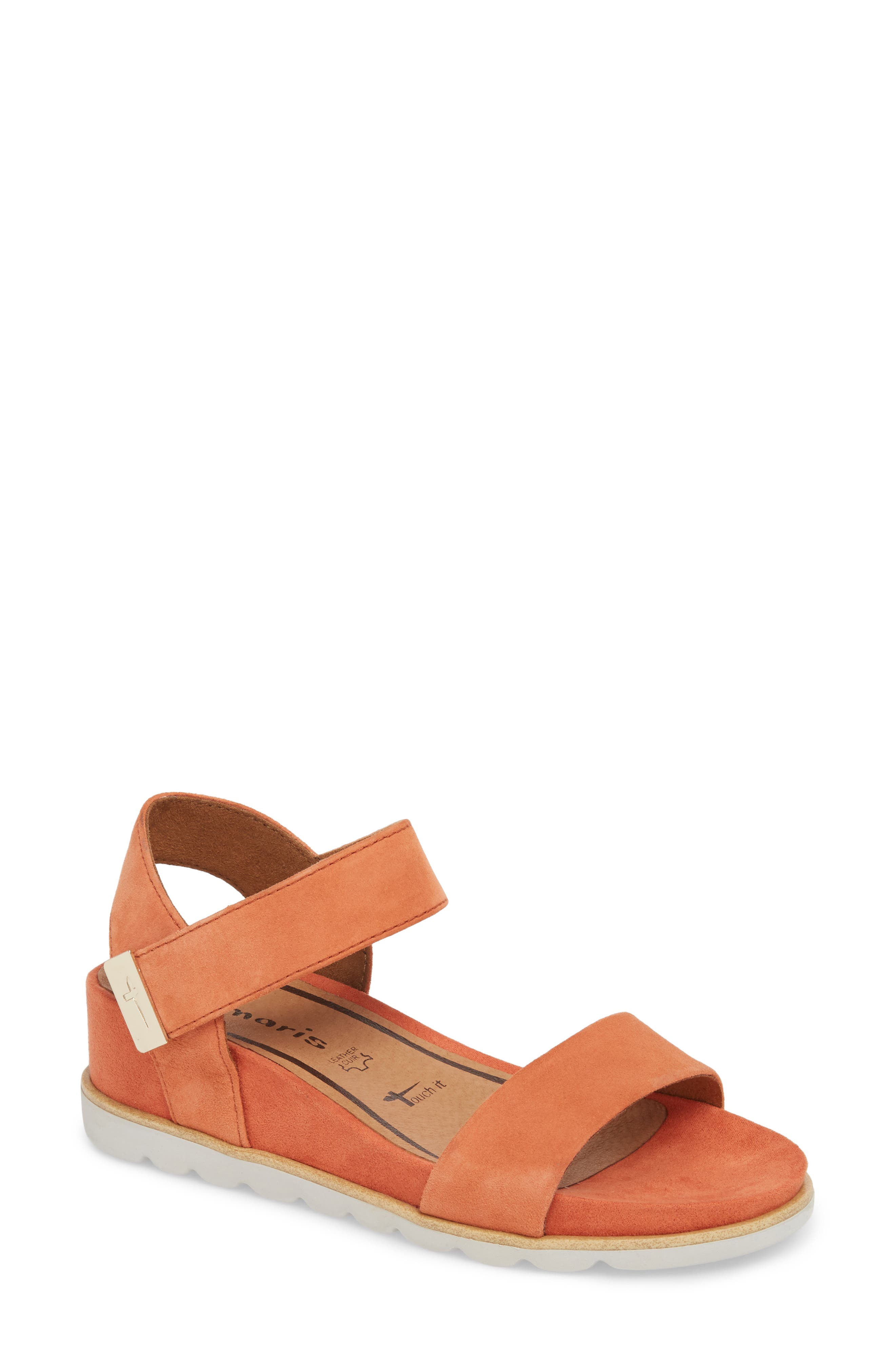 Cory Wedge Sandal,                             Main thumbnail 3, color,
