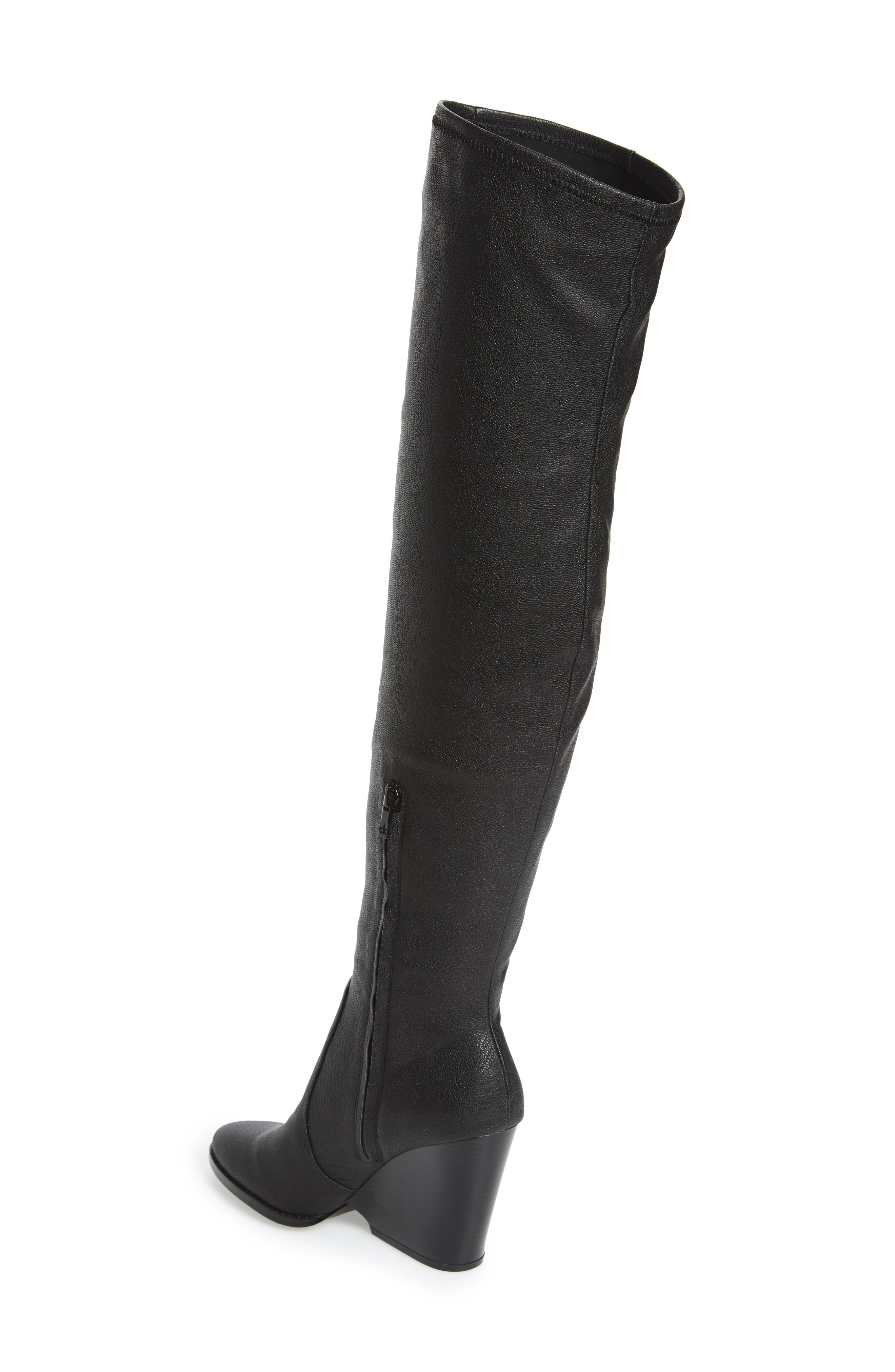 Catia Over the Knee Boot,                             Alternate thumbnail 3, color,