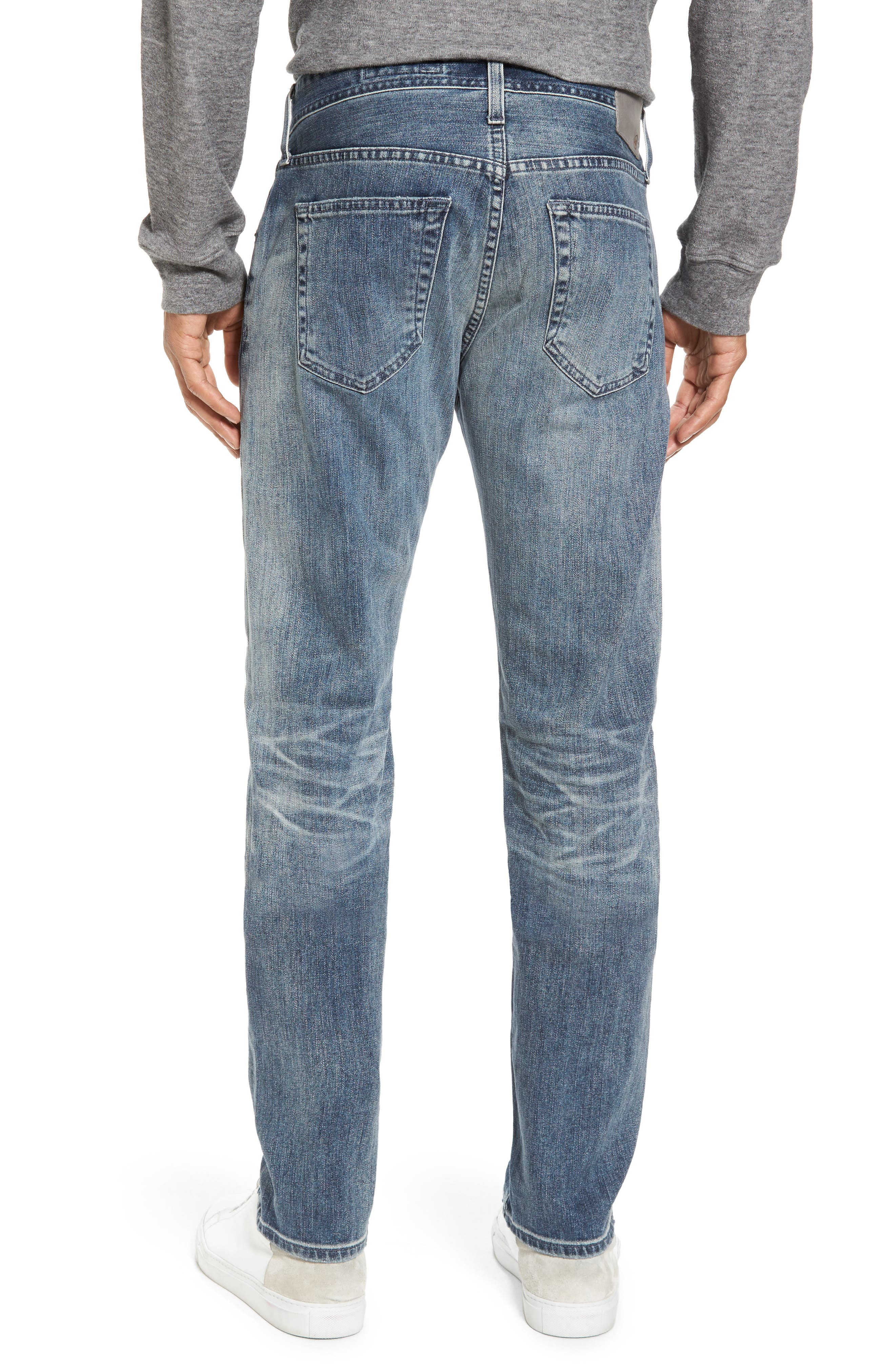 Tellis Slim Fit Jeans,                             Alternate thumbnail 2, color,                             487