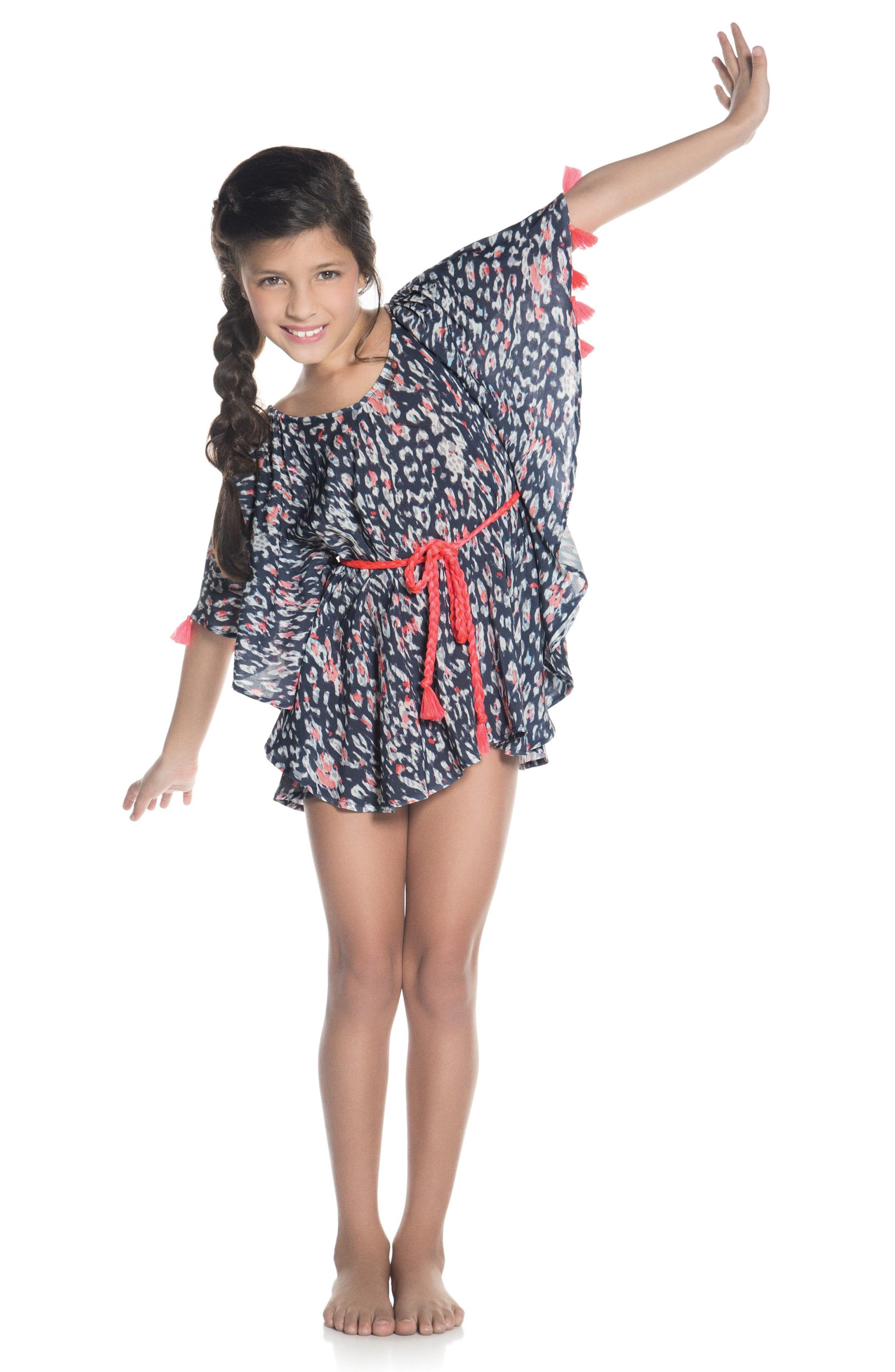 Aluvia Cover-Up Poncho,                             Alternate thumbnail 3, color,