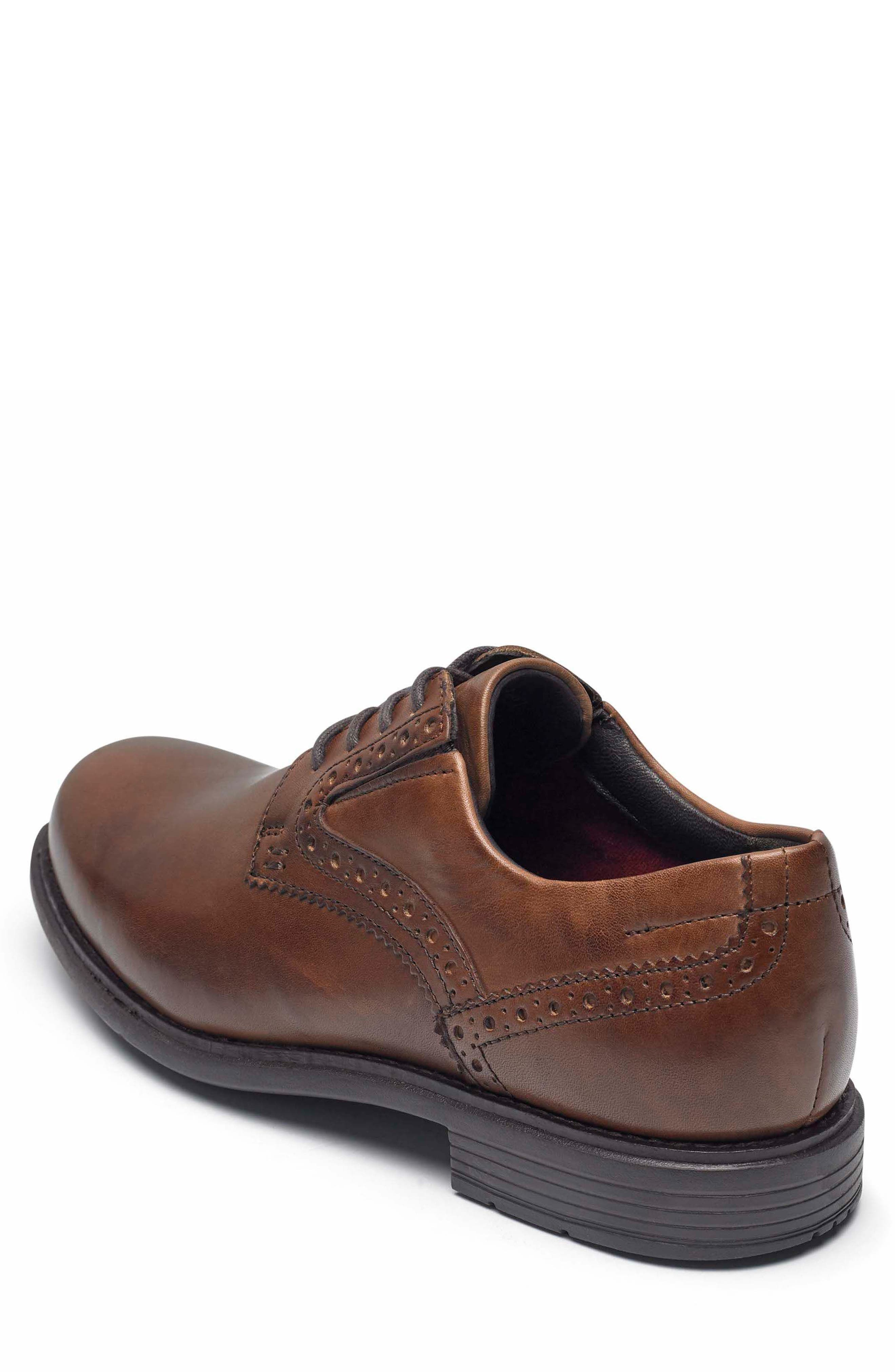 Total Motion Classic Plain Toe Derby,                             Alternate thumbnail 2, color,                             NEW BROWN LEATHER