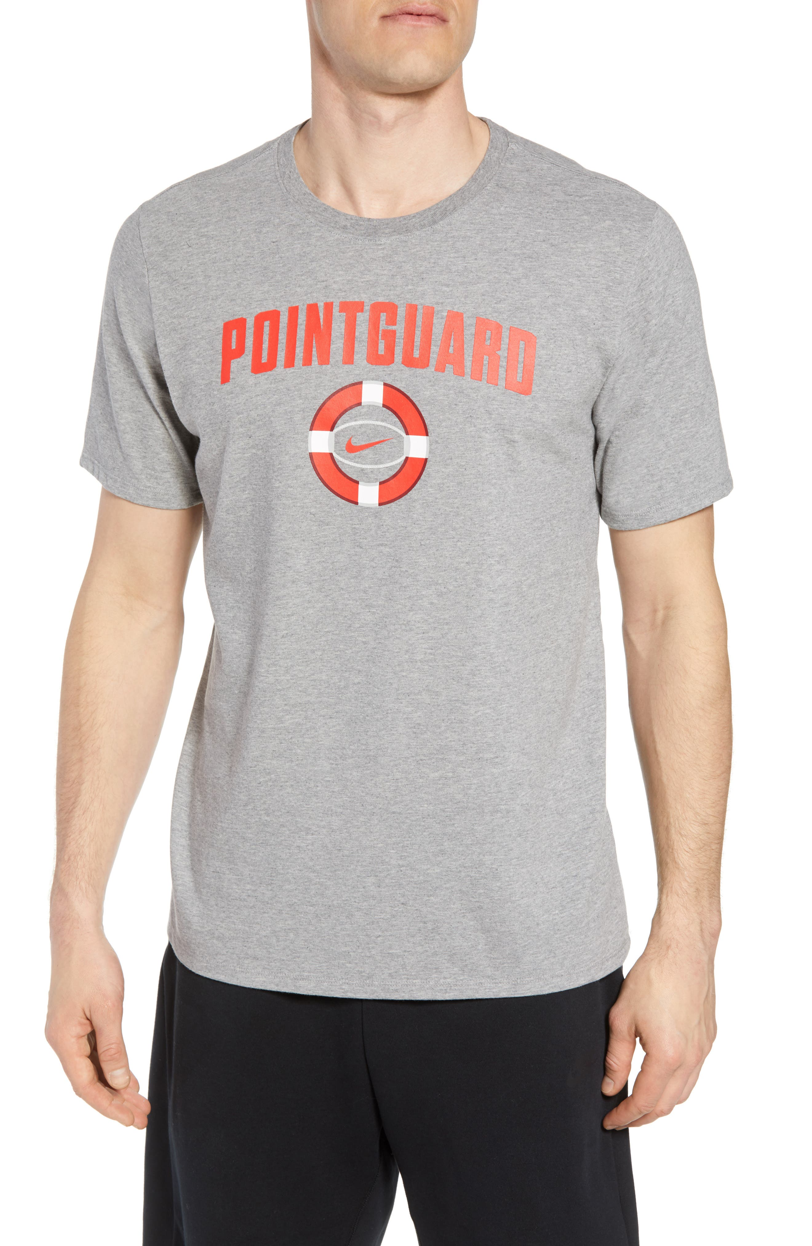 Nike Dry Pointguard Graphic T-Shirt, Grey