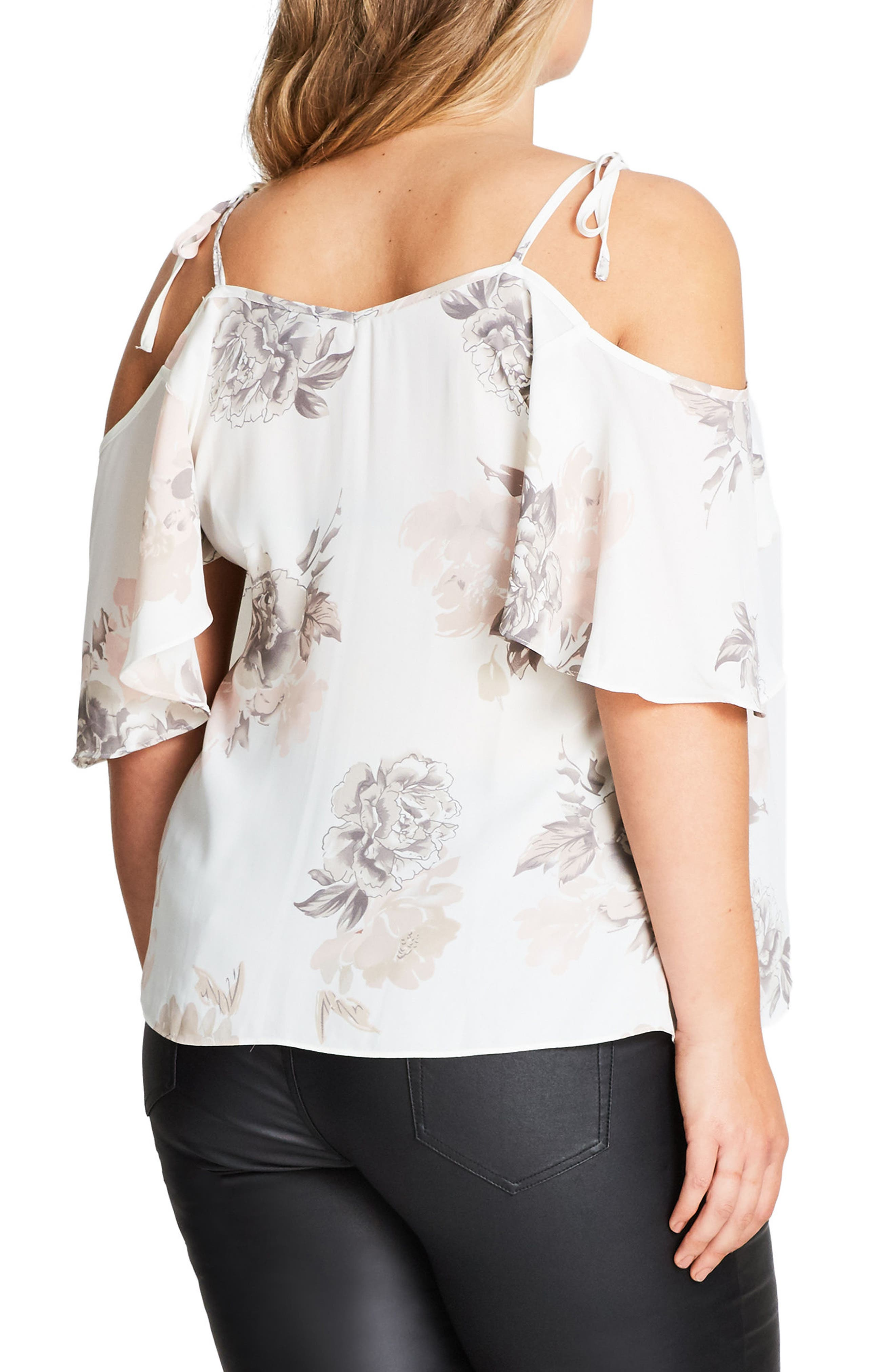 Whimsy Floral Top,                             Alternate thumbnail 2, color,                             650
