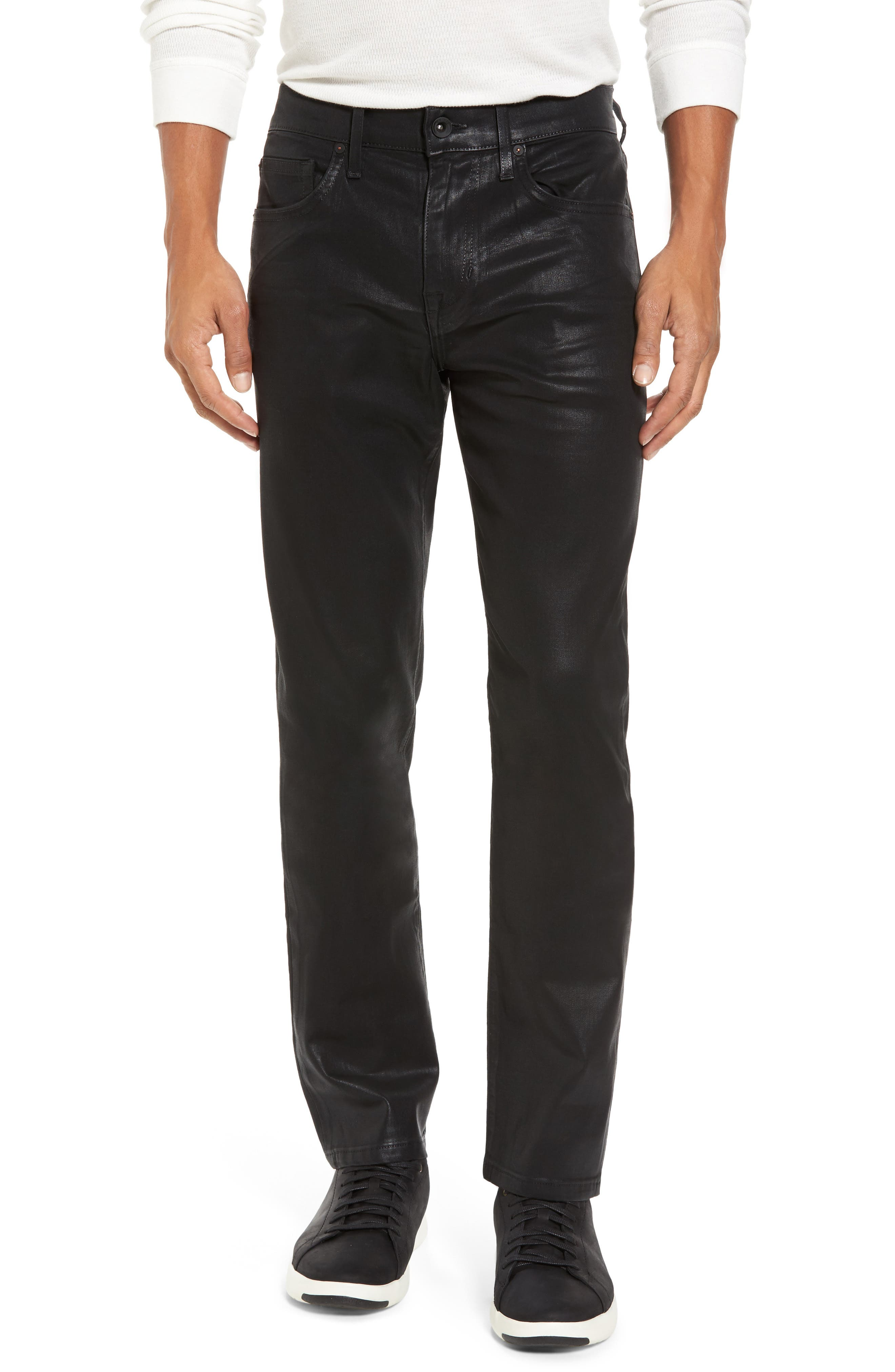 Coated Slim Fit Jeans,                             Main thumbnail 1, color,