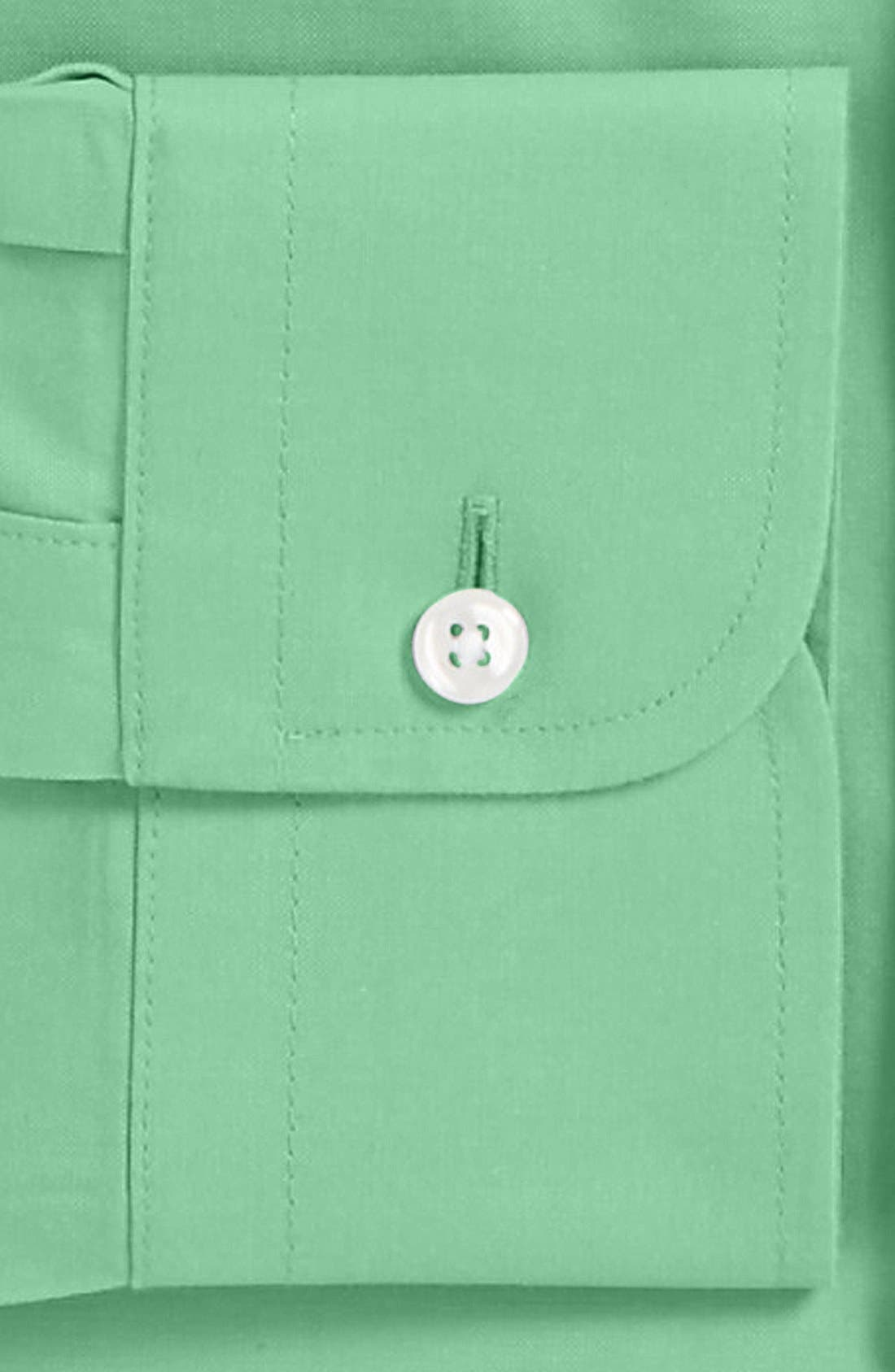 Smartcare<sup>™</sup> Traditional Fit Pinpoint Dress Shirt,                             Alternate thumbnail 53, color,