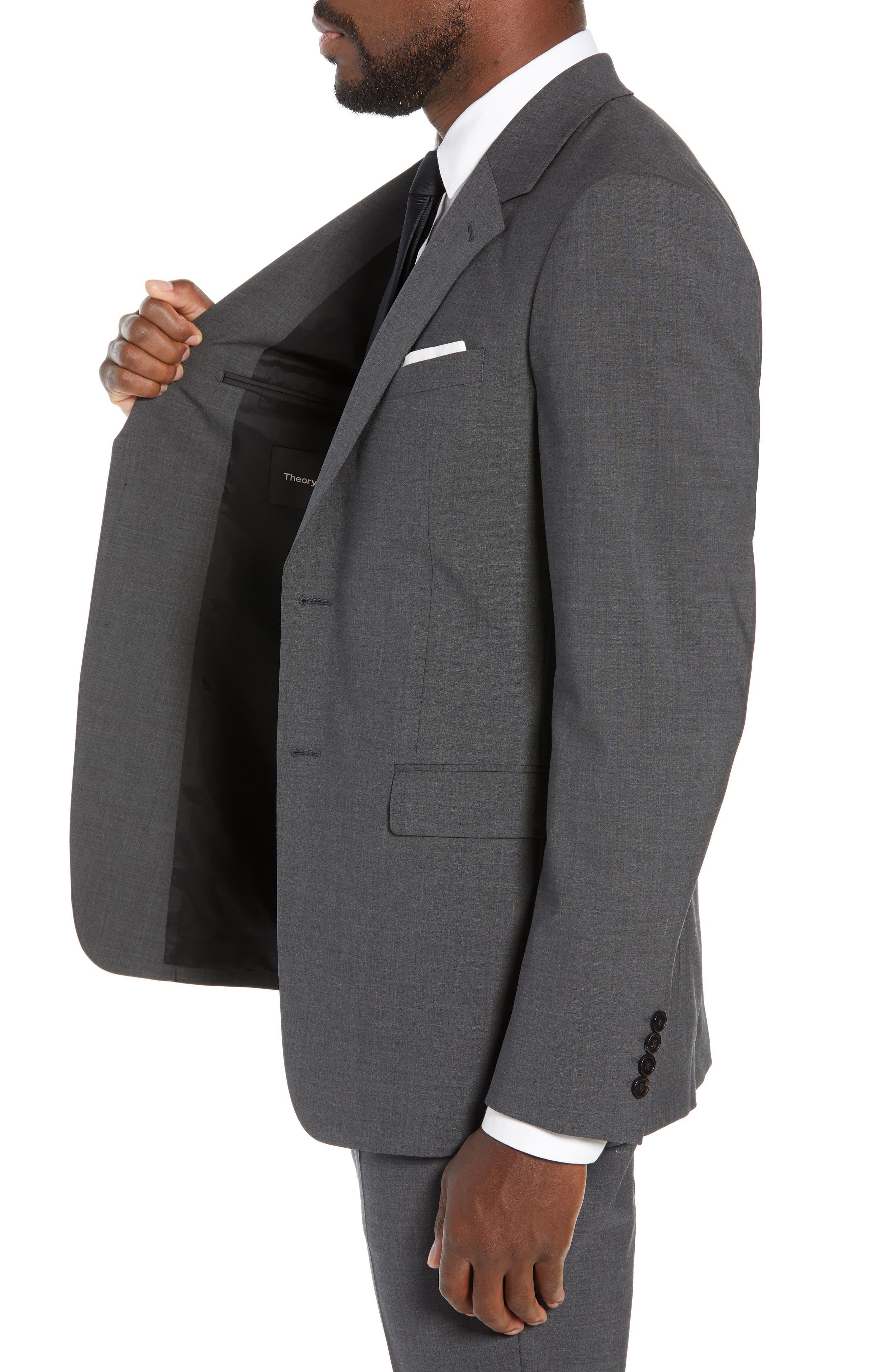 New Tailor Chambers Blazer,                             Alternate thumbnail 3, color,                             MEDIUM CHARCOAL