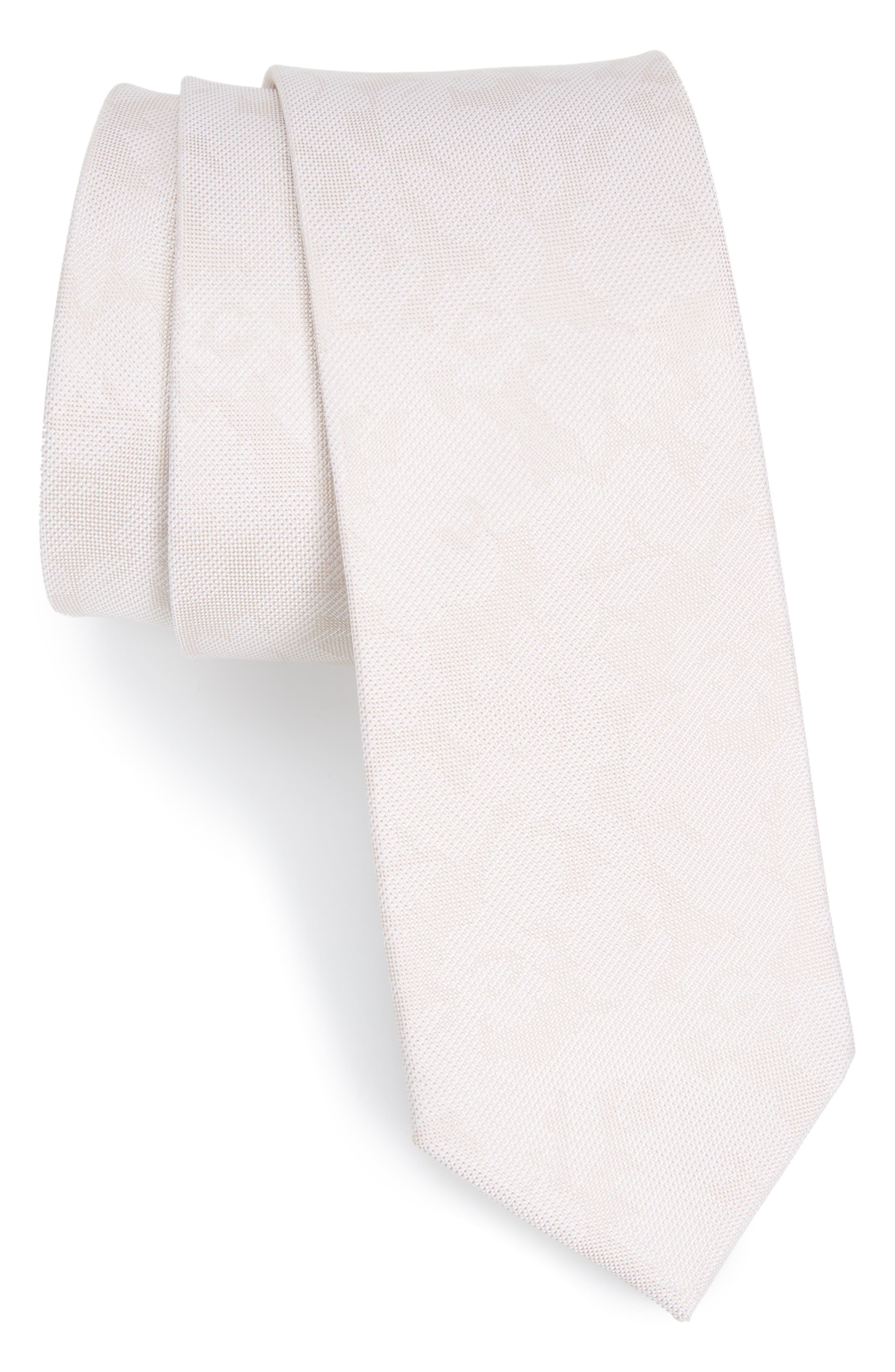 Floral Silk Tie,                         Main,                         color, 270