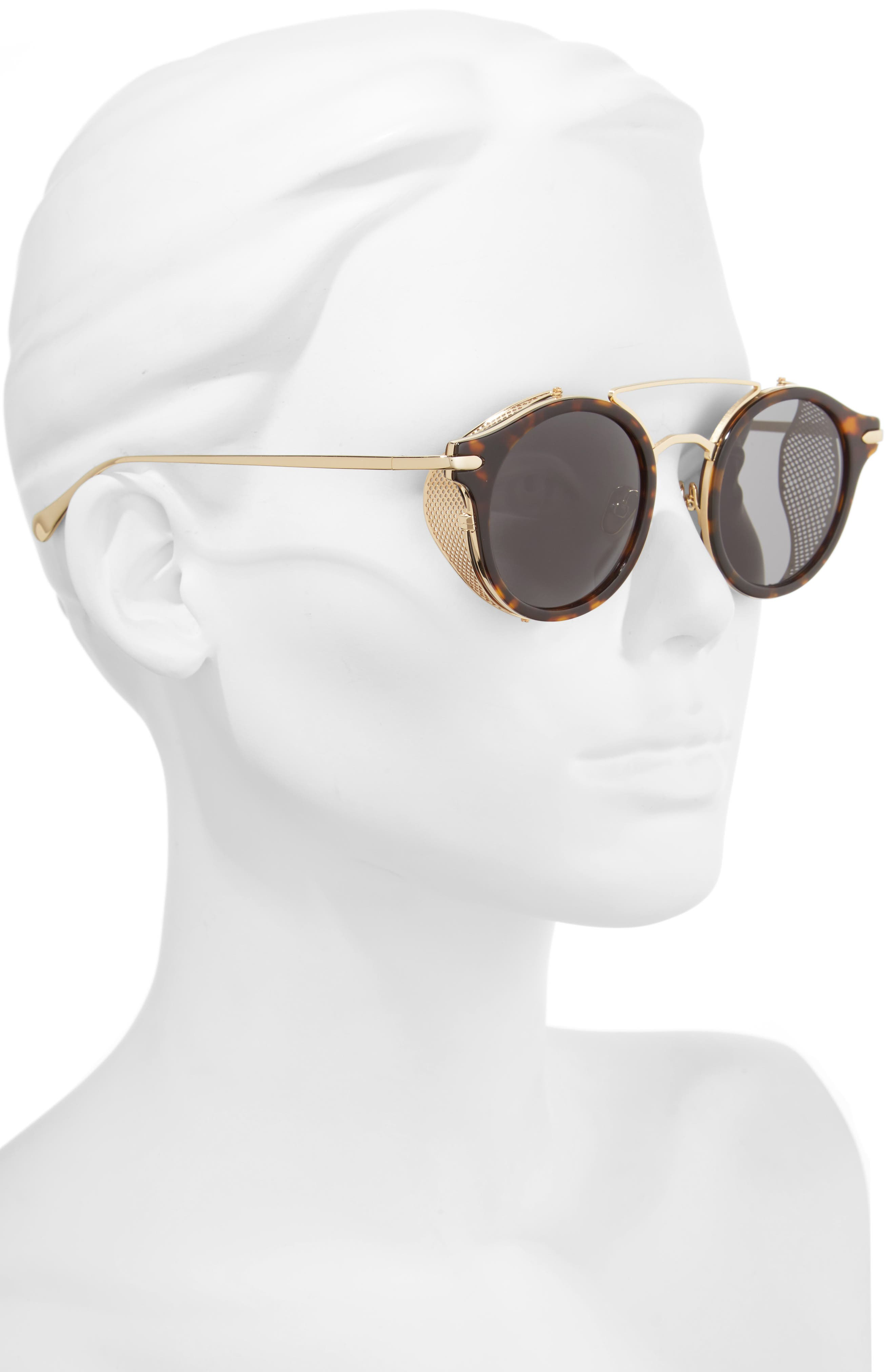 Mile High 47mm Sunglasses,                             Alternate thumbnail 5, color,