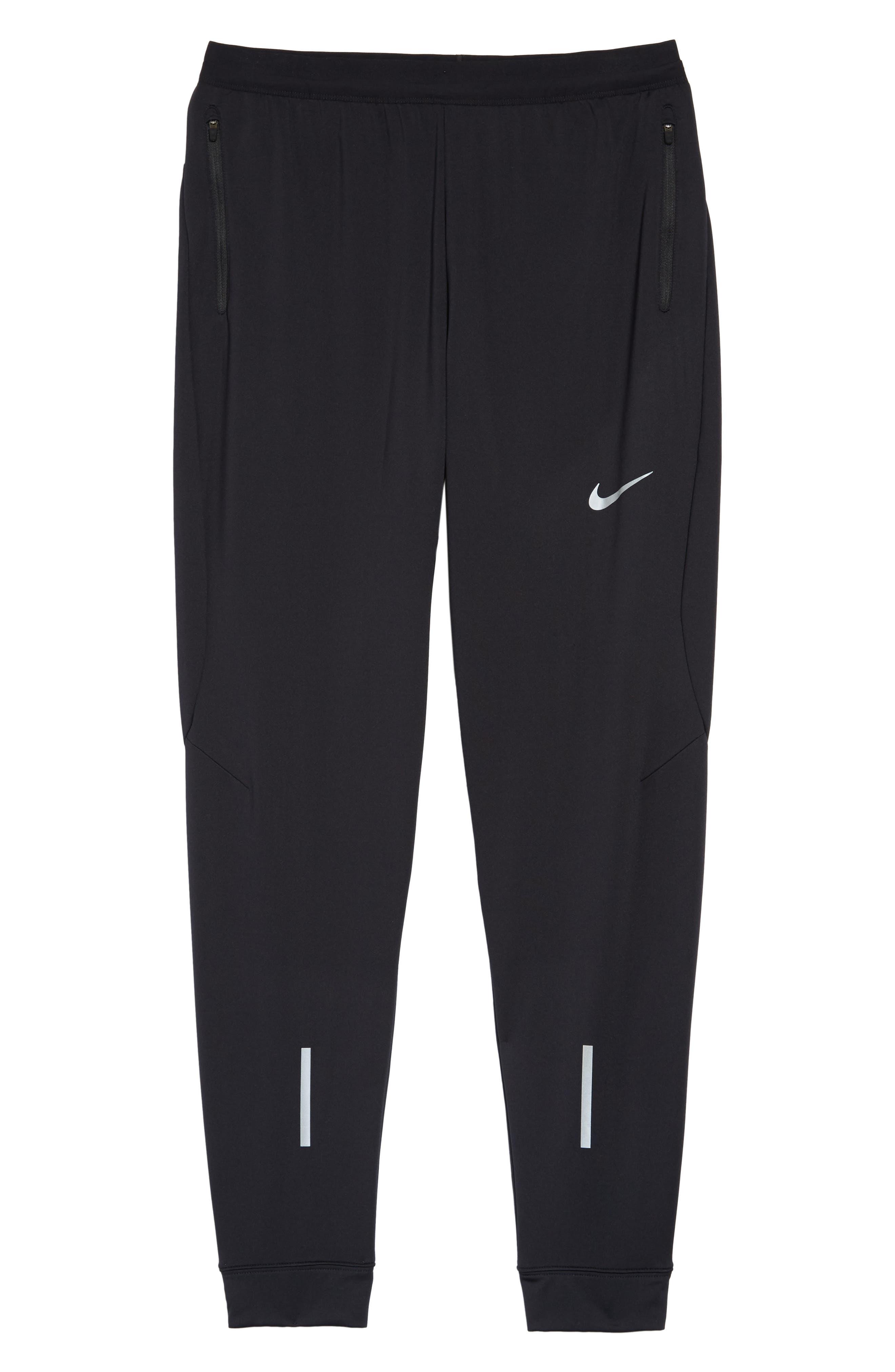 Dry Running Pants,                             Alternate thumbnail 6, color,                             BLACK