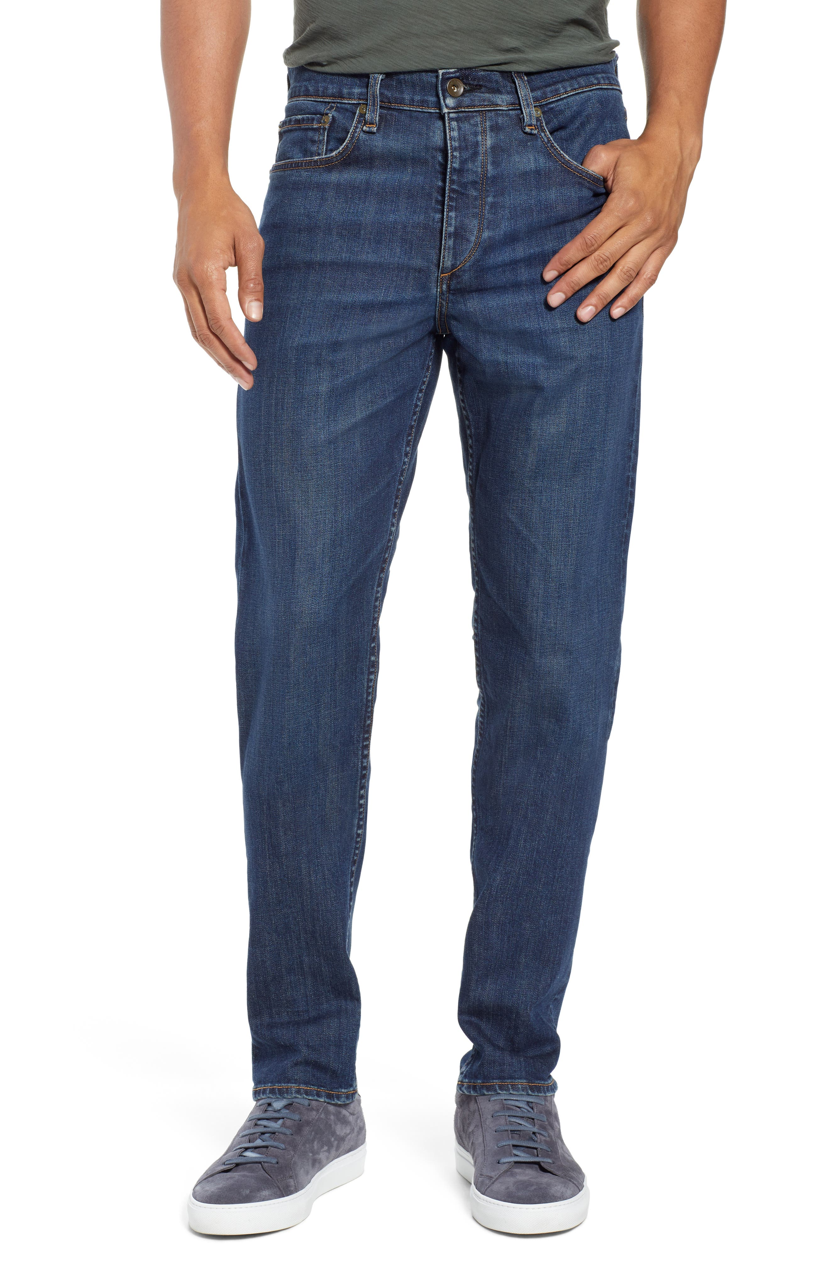 Fit 2 Slim Fit Jeans,                         Main,                         color, 420