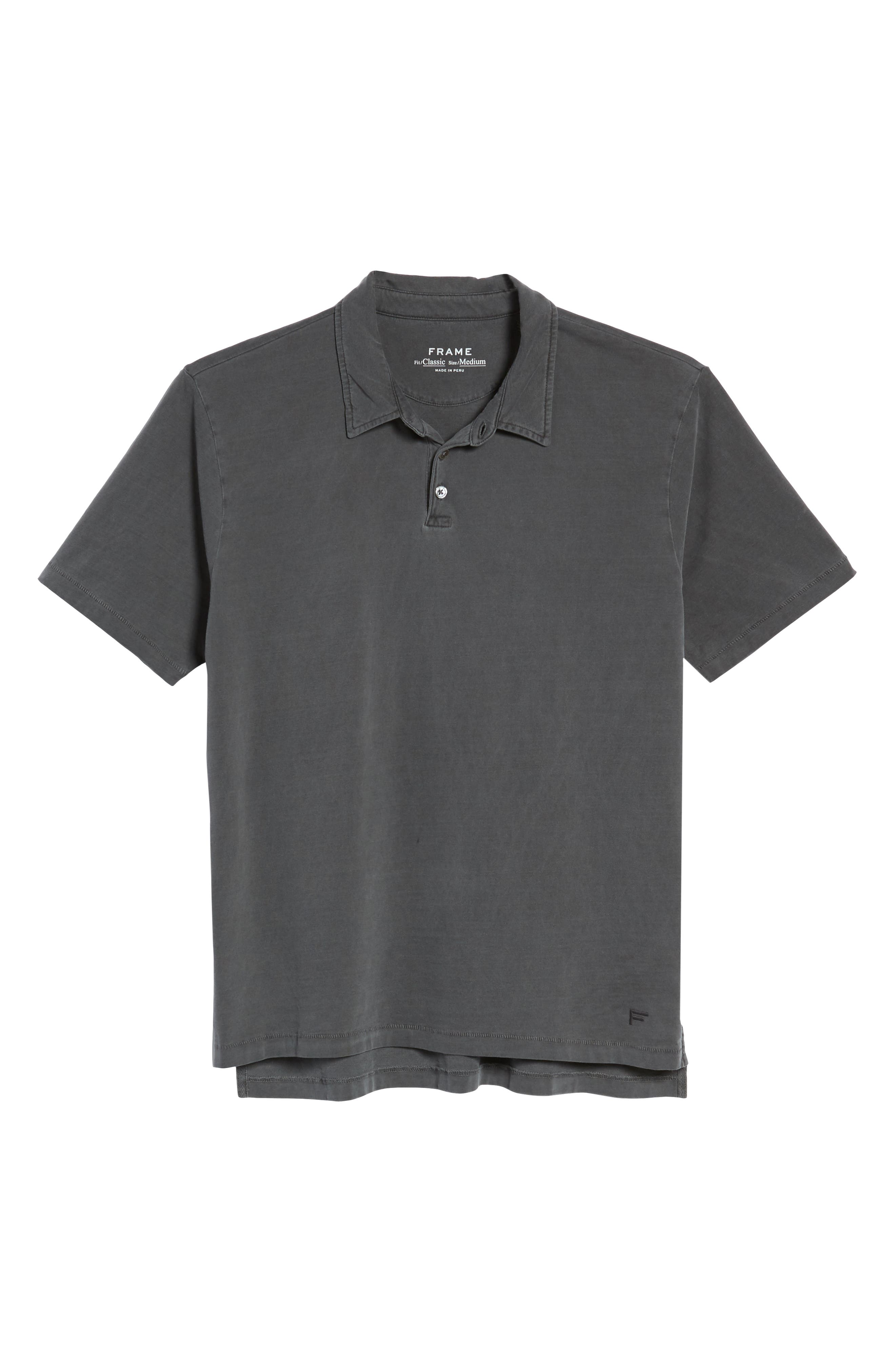 Classic Fit Polo,                             Alternate thumbnail 6, color,                             001