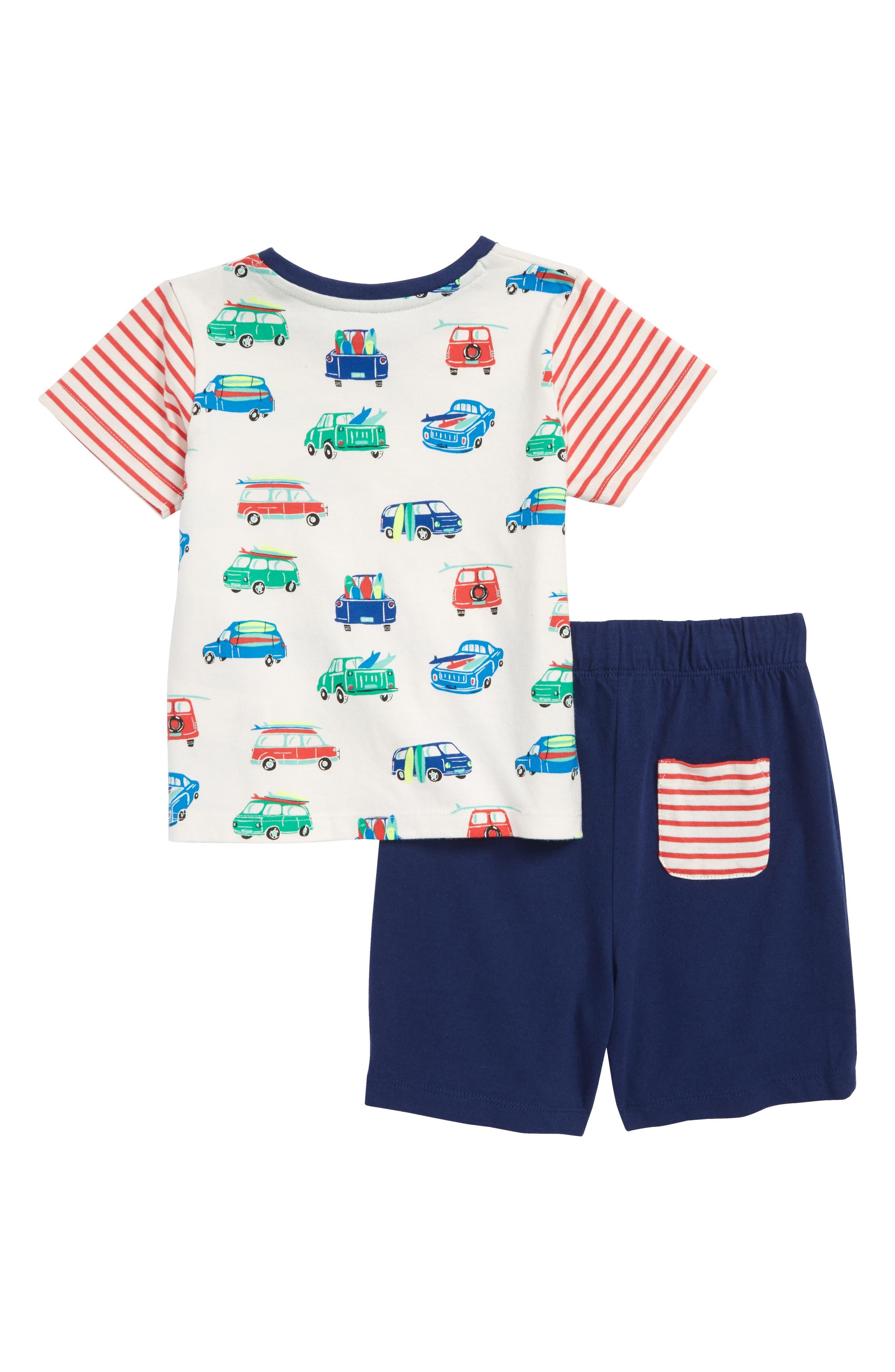 Fun Jersey T-Shirt & Shorts Set,                             Alternate thumbnail 2, color,                             902