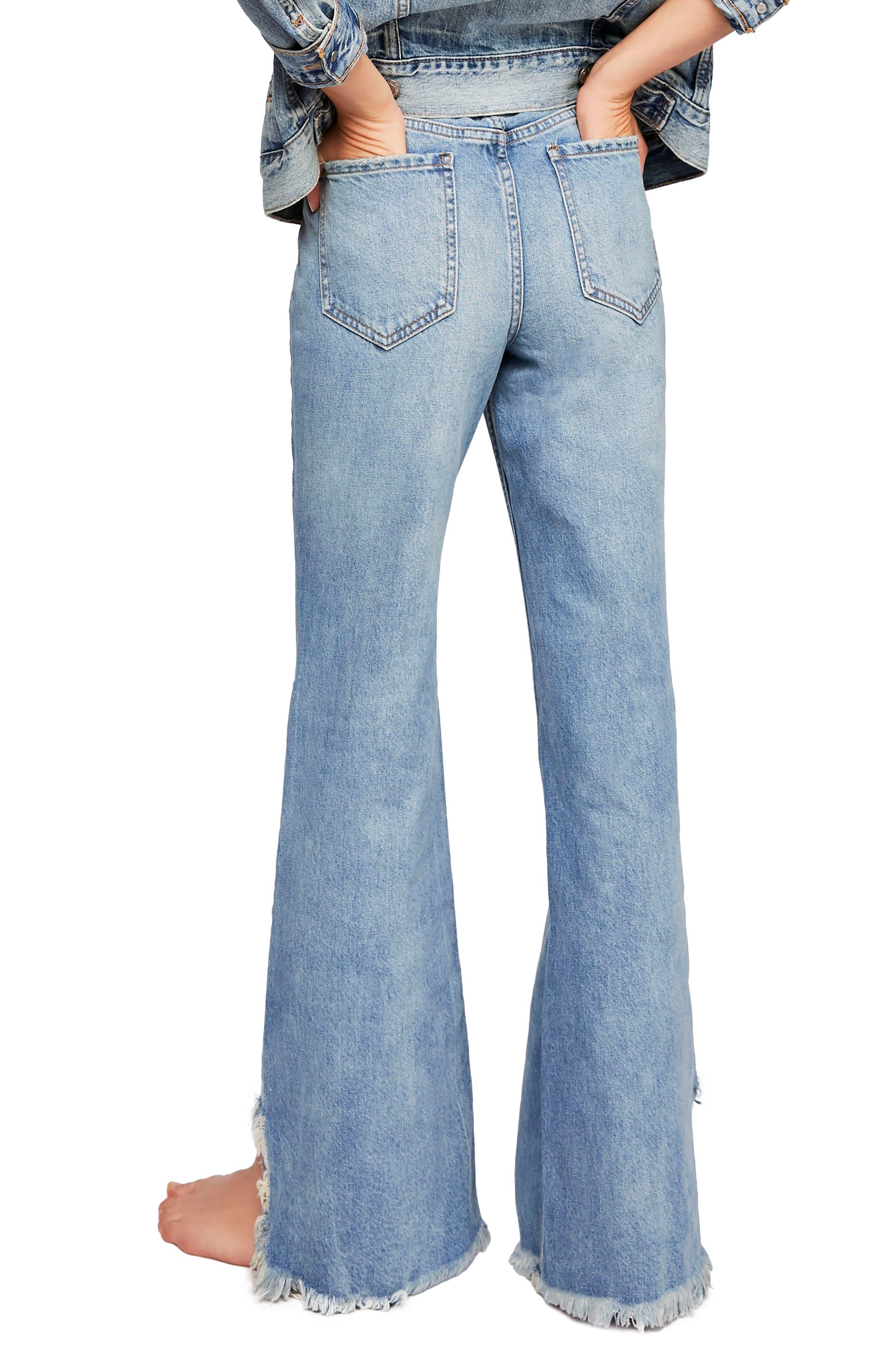 Vintage Flare Jeans,                             Alternate thumbnail 2, color,                             400