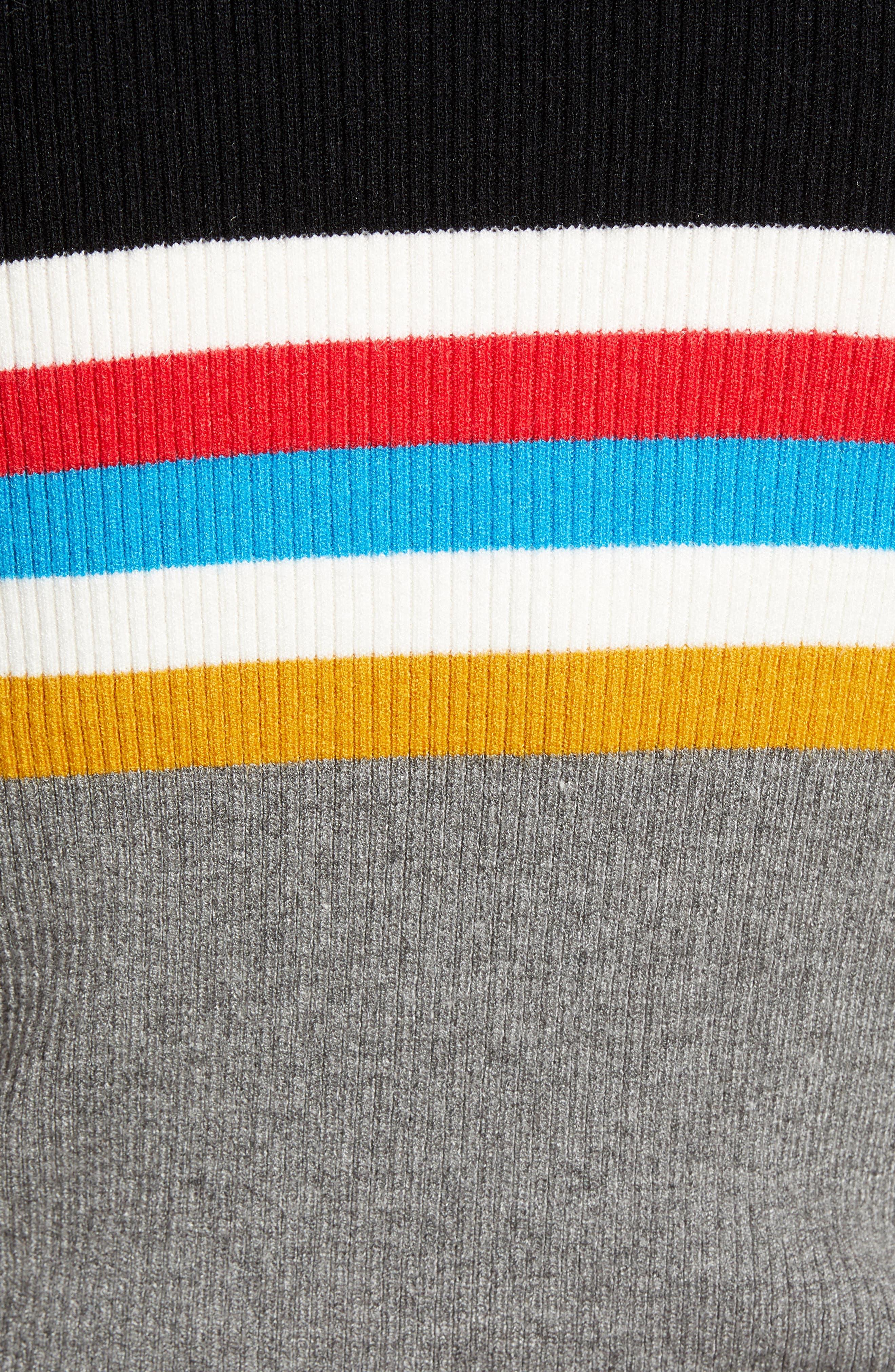 Stripe Sweater,                             Alternate thumbnail 5, color,                             038