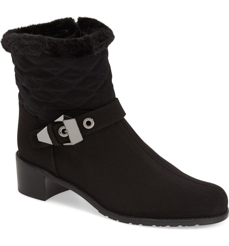 Stuart Weitzman  Furgorby  Weather Resistant Ankle Boot (Women ... dfd262d4d7eb