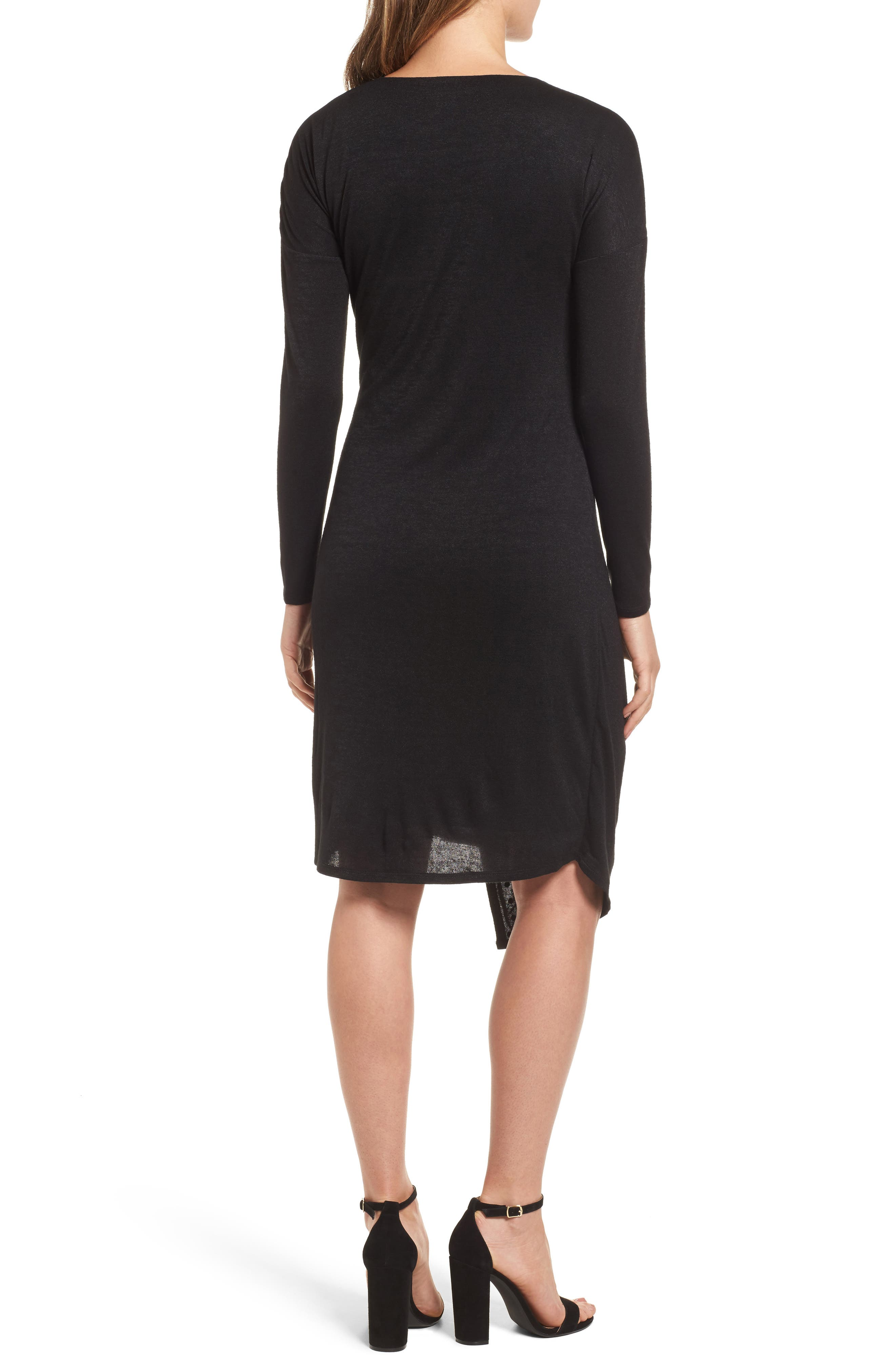Studded Every Occasion Dress,                             Alternate thumbnail 2, color,                             BLACK ONYX