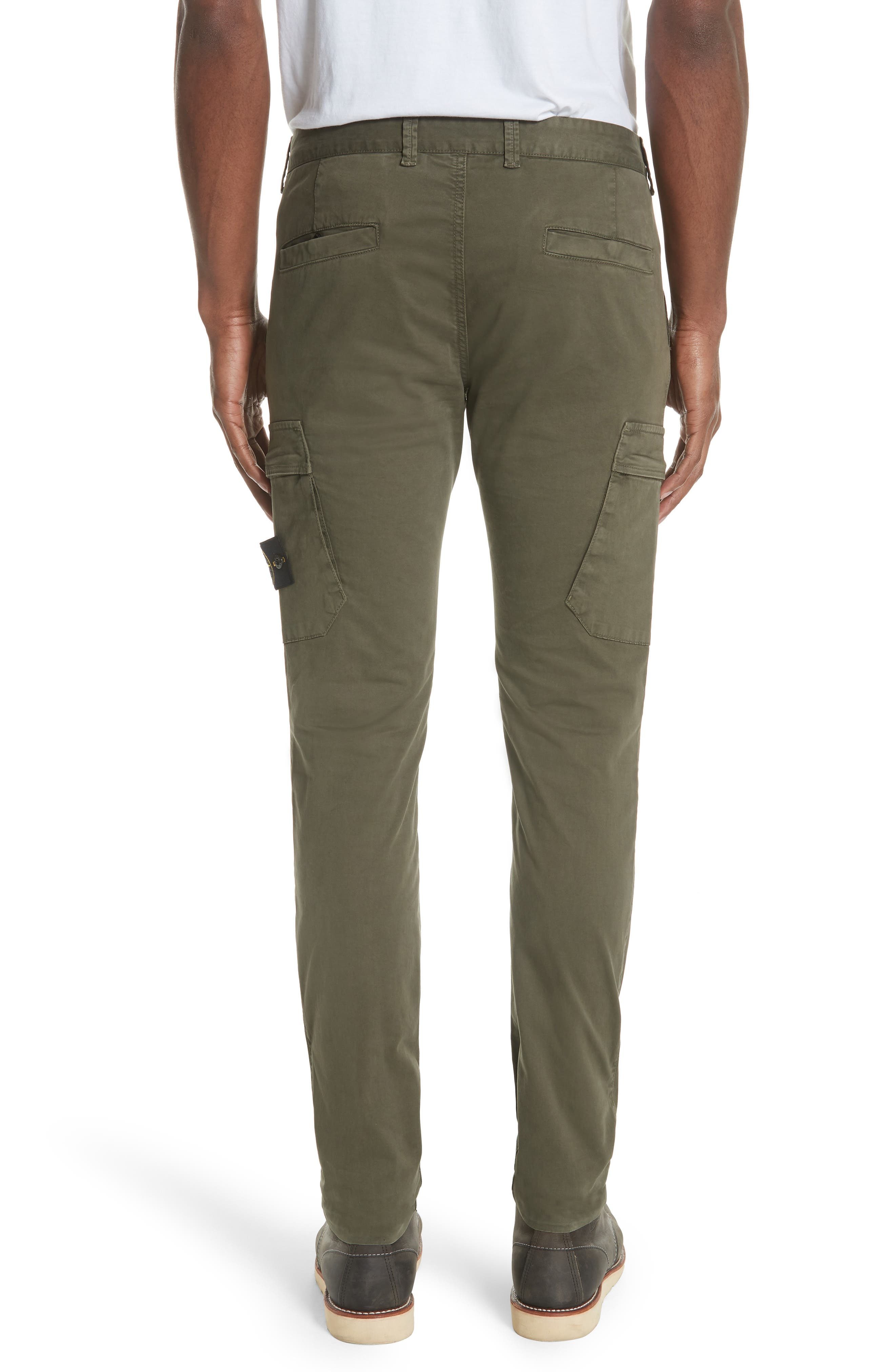 Slim Fit Cargo Chinos,                             Alternate thumbnail 2, color,                             400