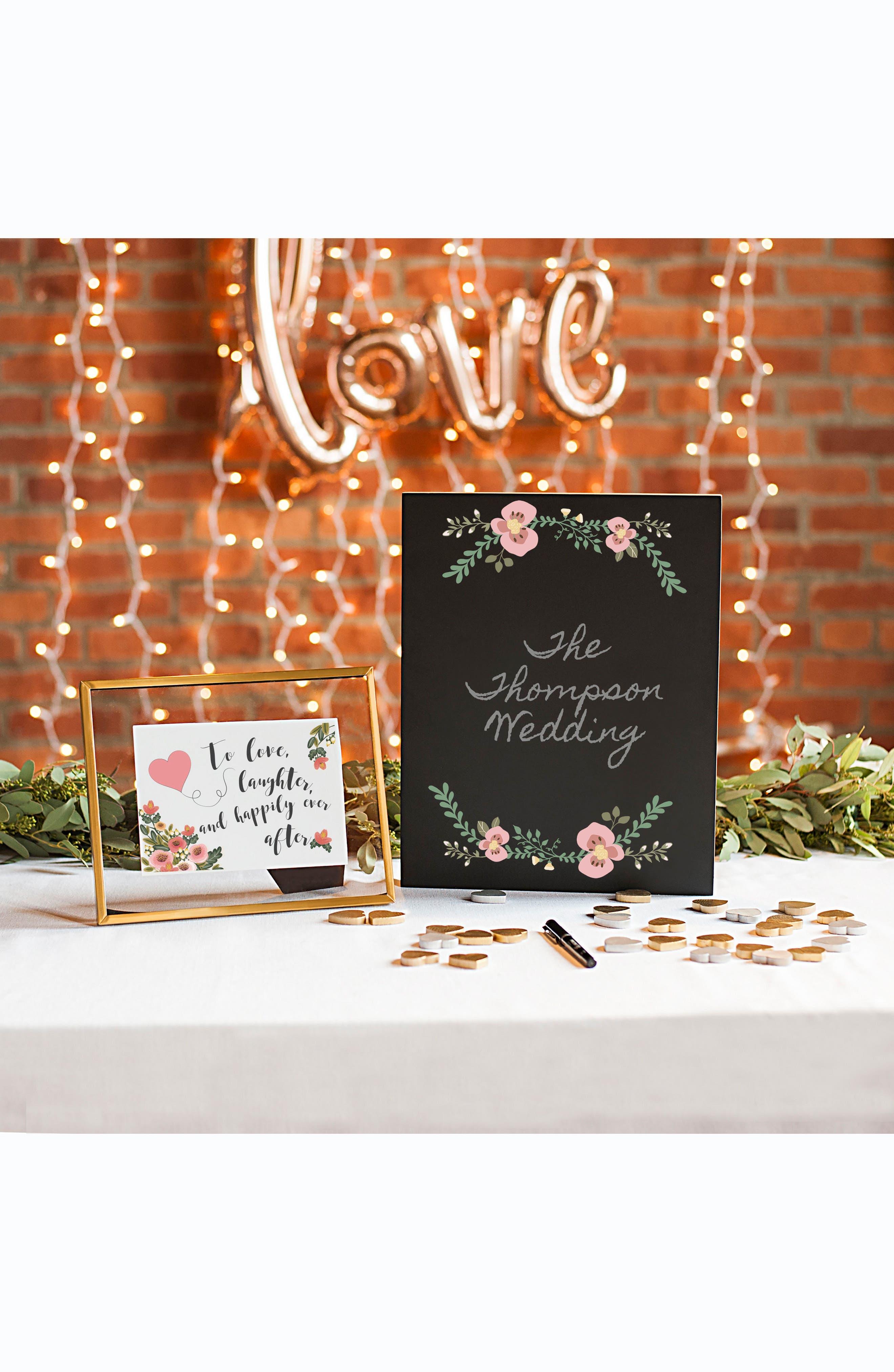 Wedding Chalkboard,                             Alternate thumbnail 5, color,                             001