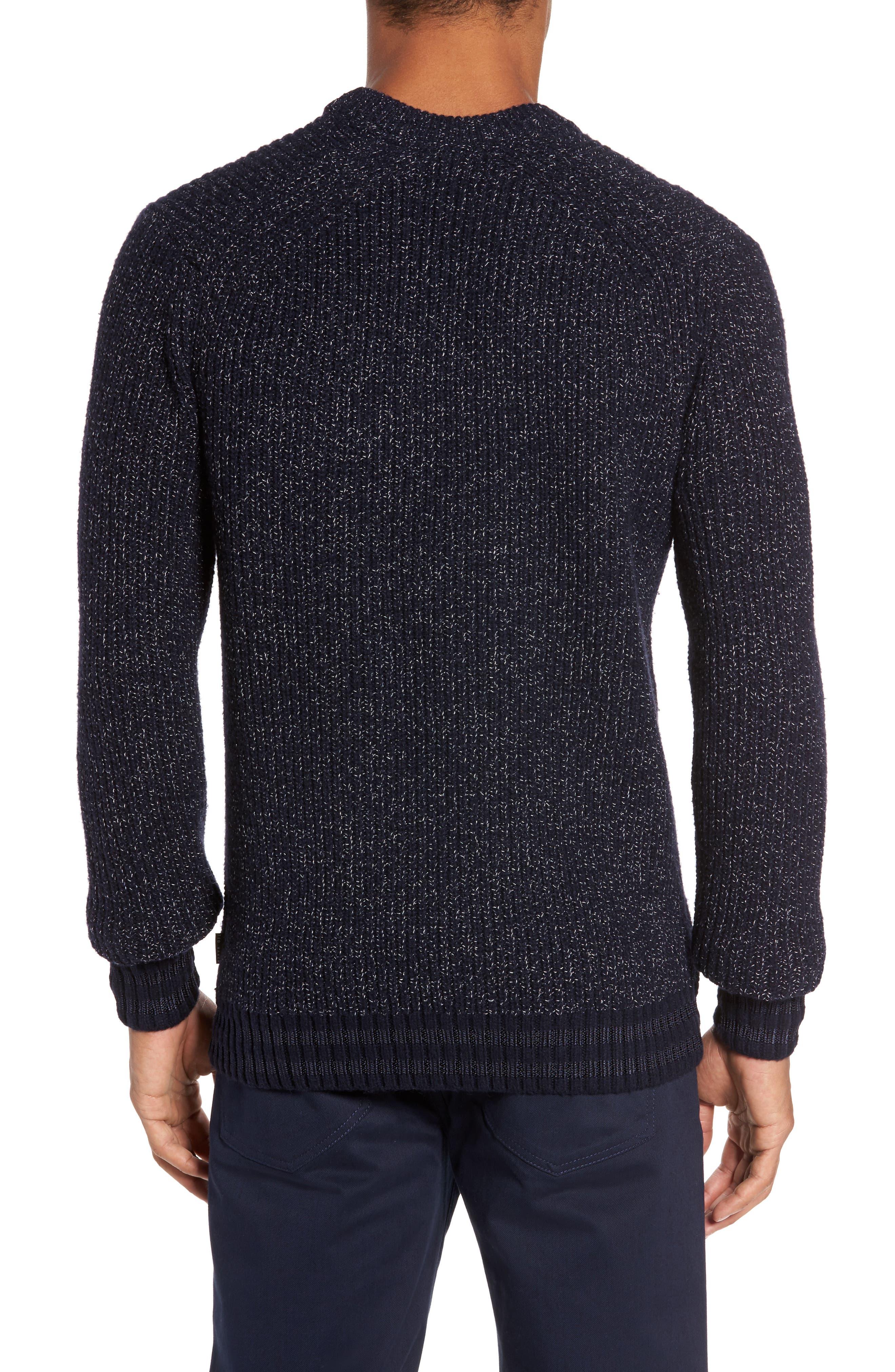 Textured Raglan Sweater,                             Alternate thumbnail 2, color,                             410